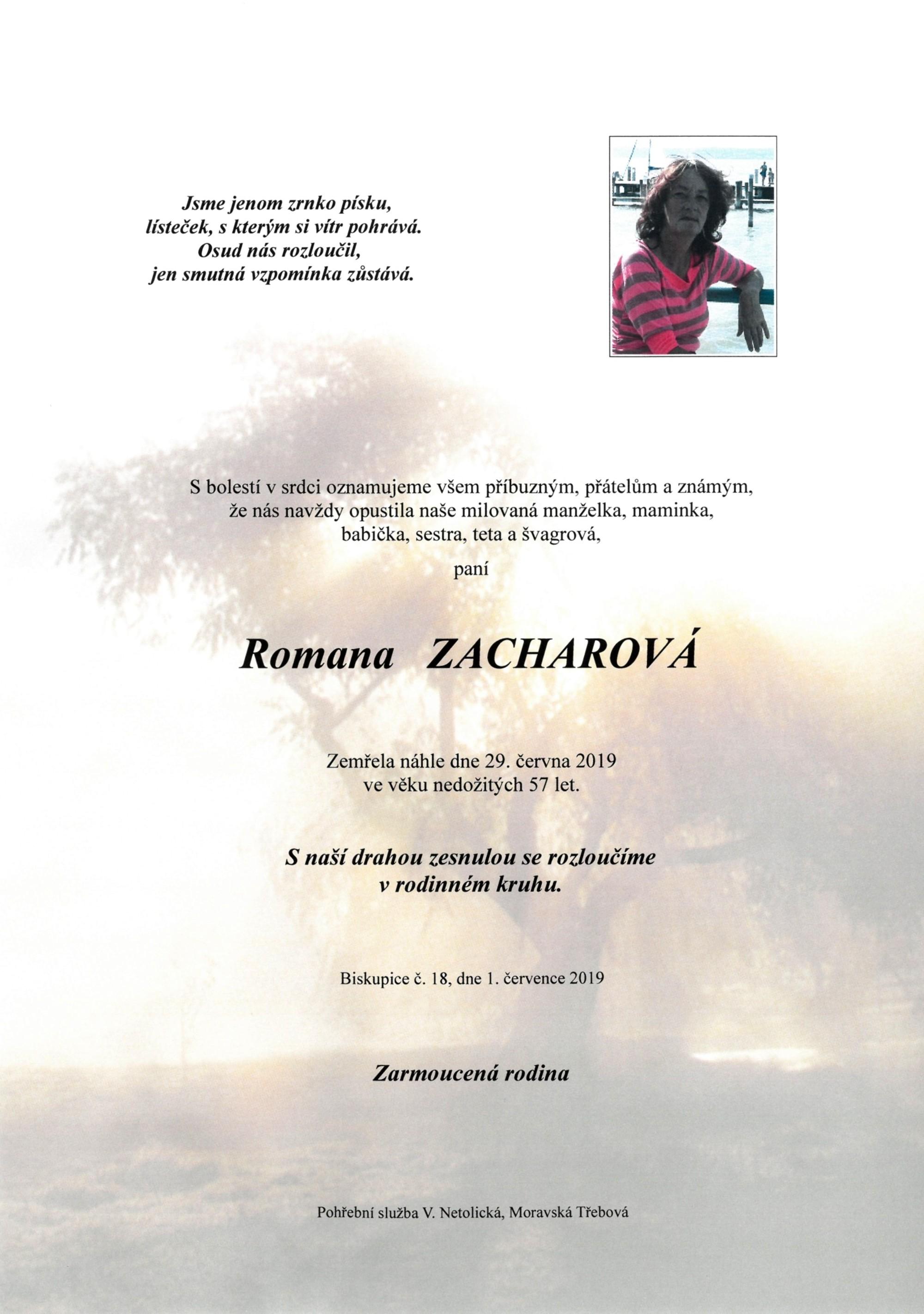 Romana Zacharová