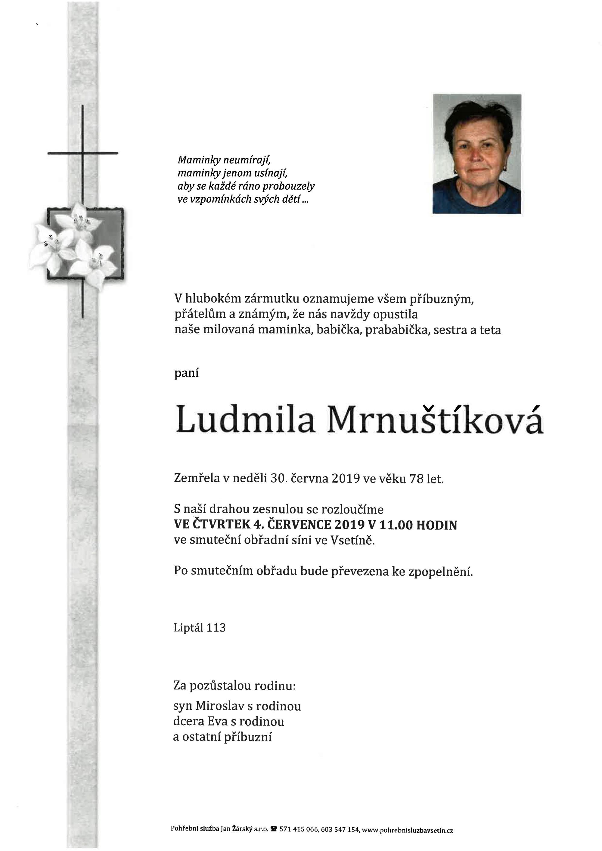 Ludmila Mrnuštíková