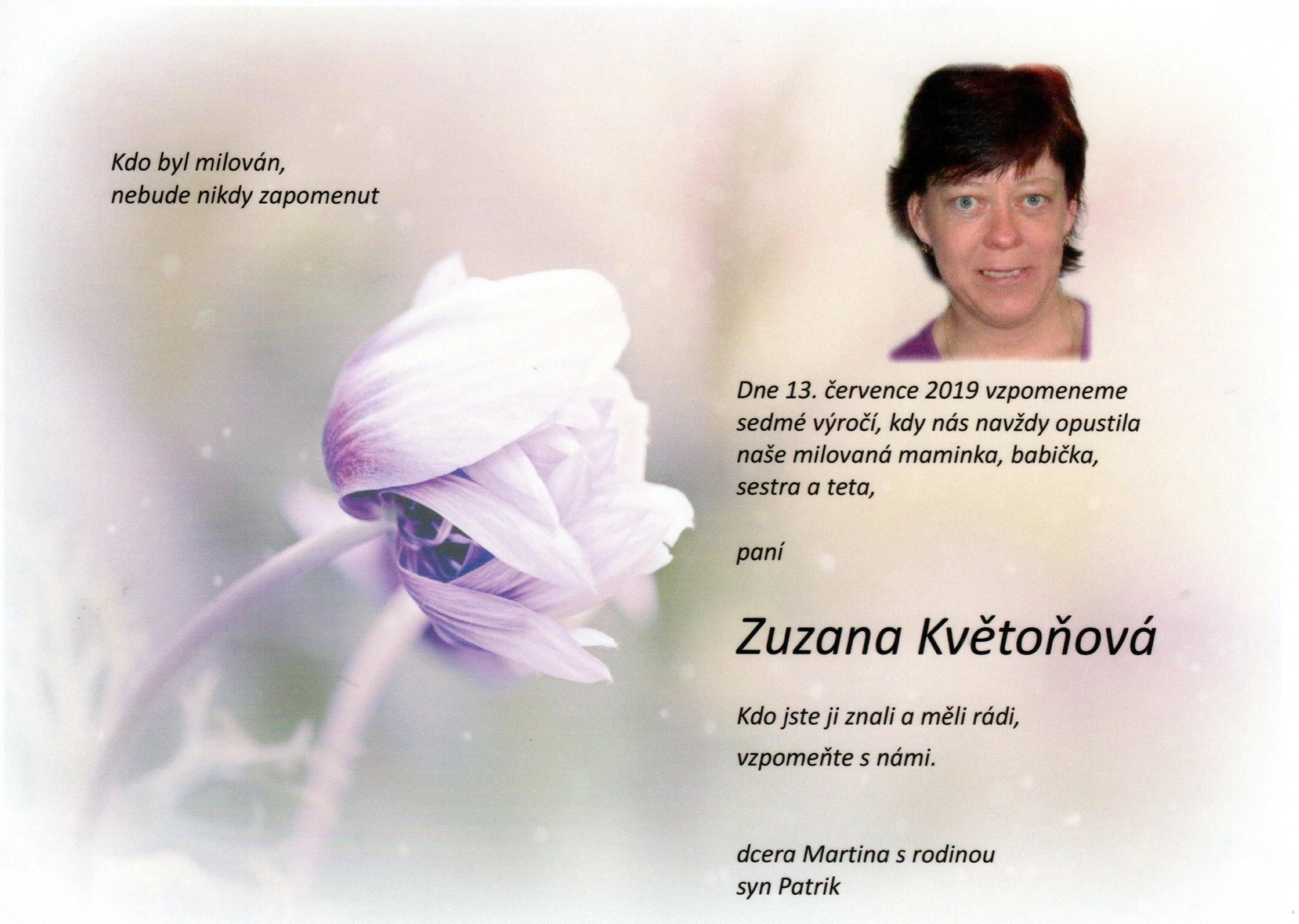 Zuzana Květoňová