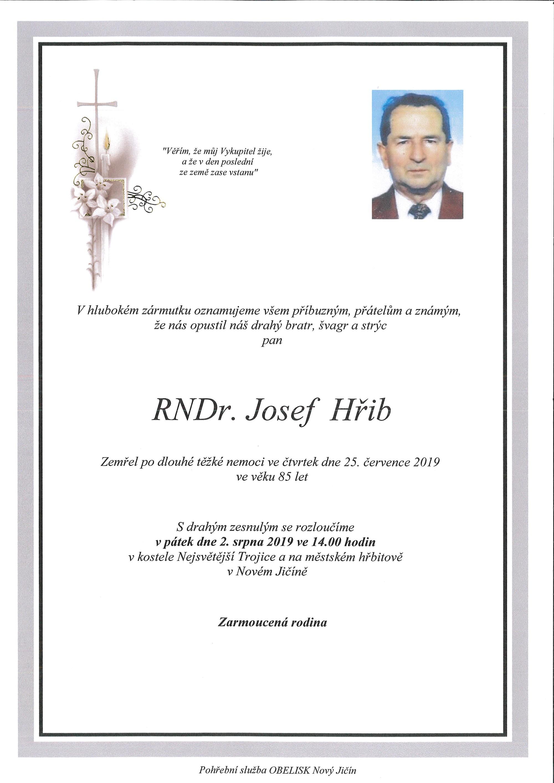 RNDr. Josef Hřib
