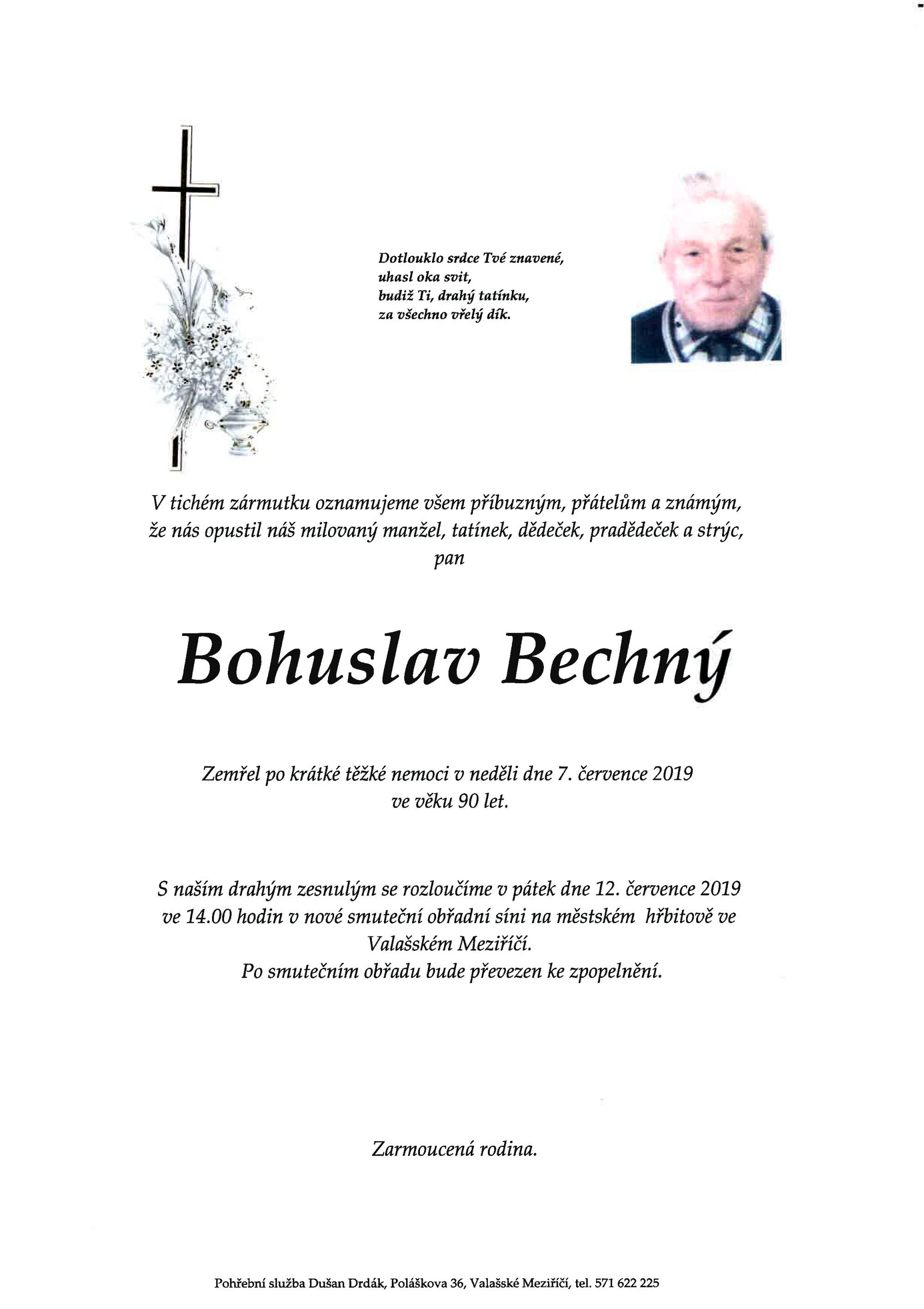 Bohuslav Bechný