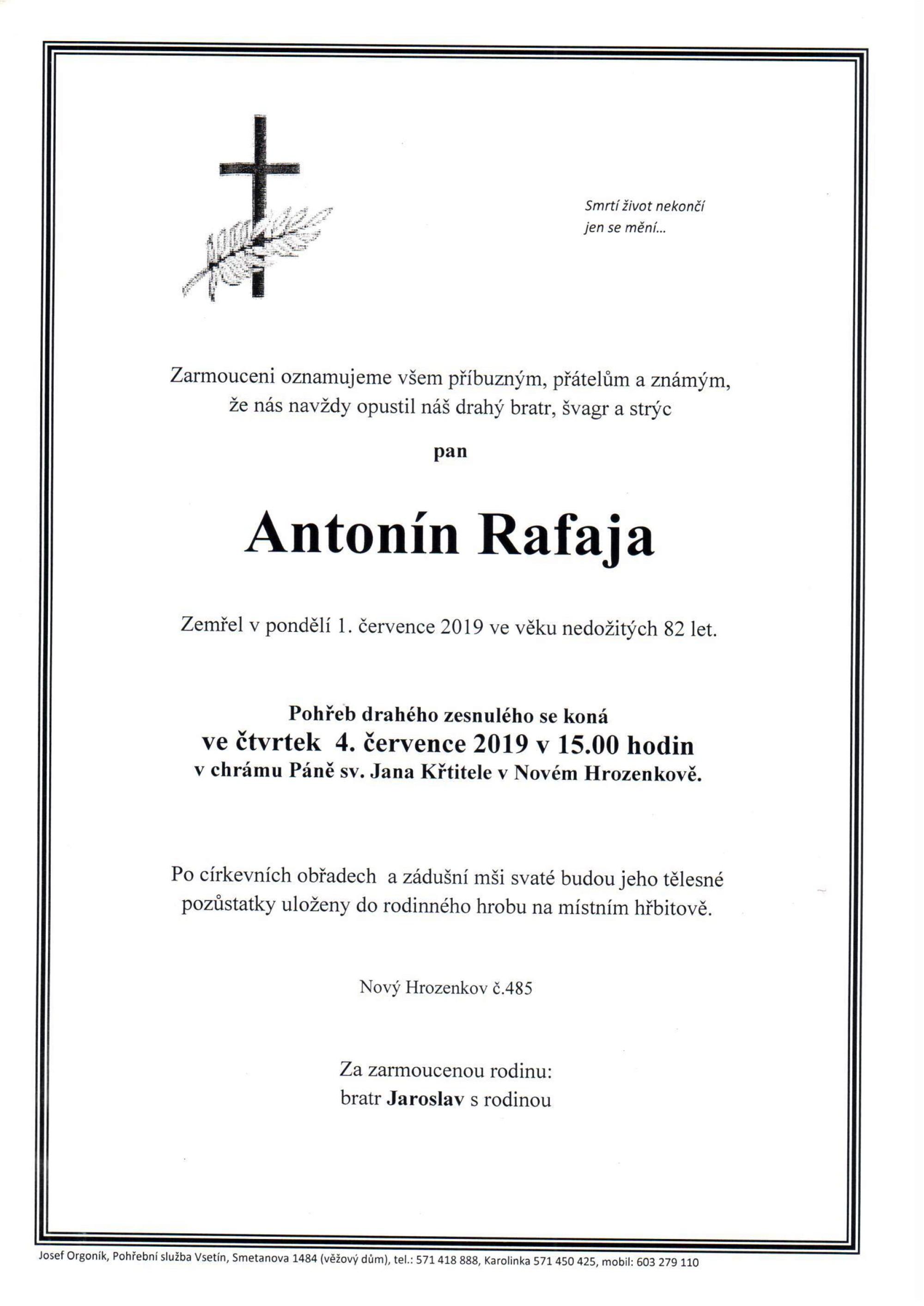 Antonín Rafaja