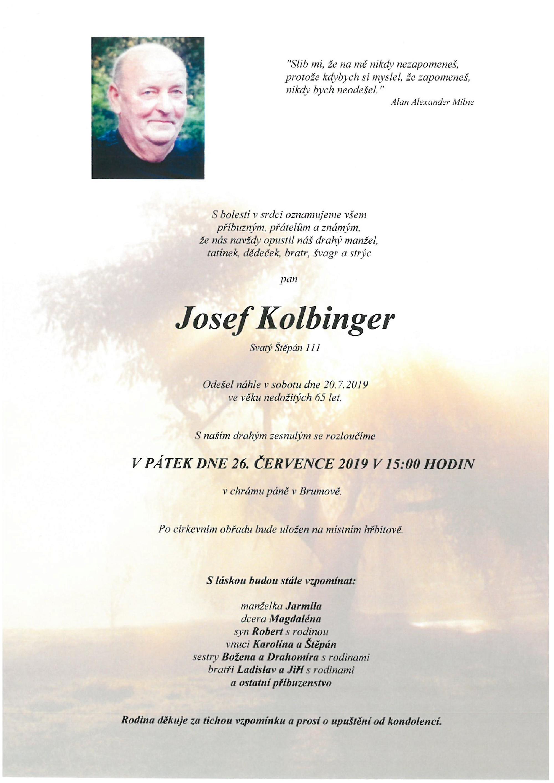 Josef Kolbinger