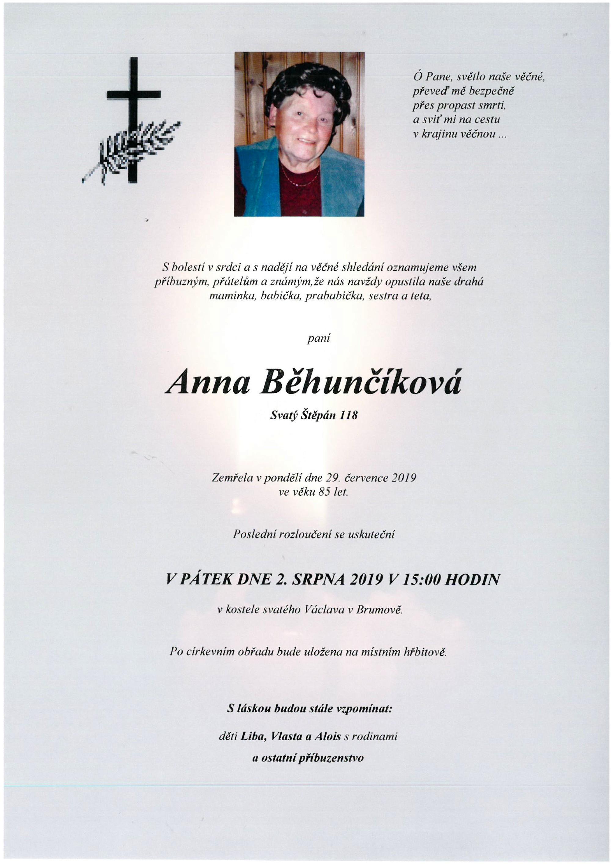 Anna Běhunčíková