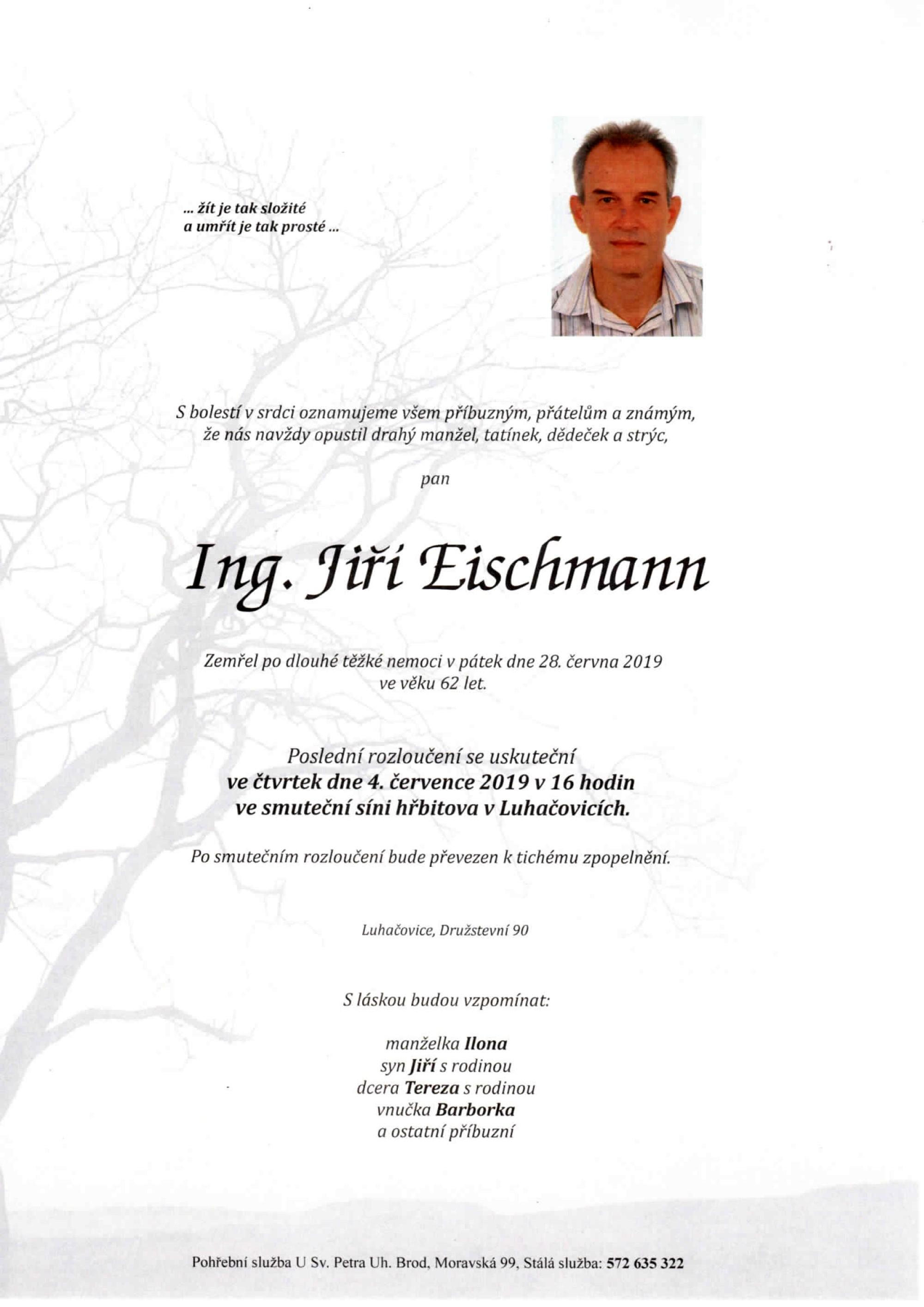 Ing. Jiří Eischmann