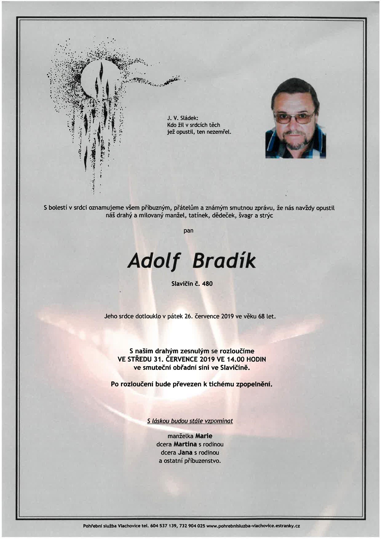 Adolf Bradík