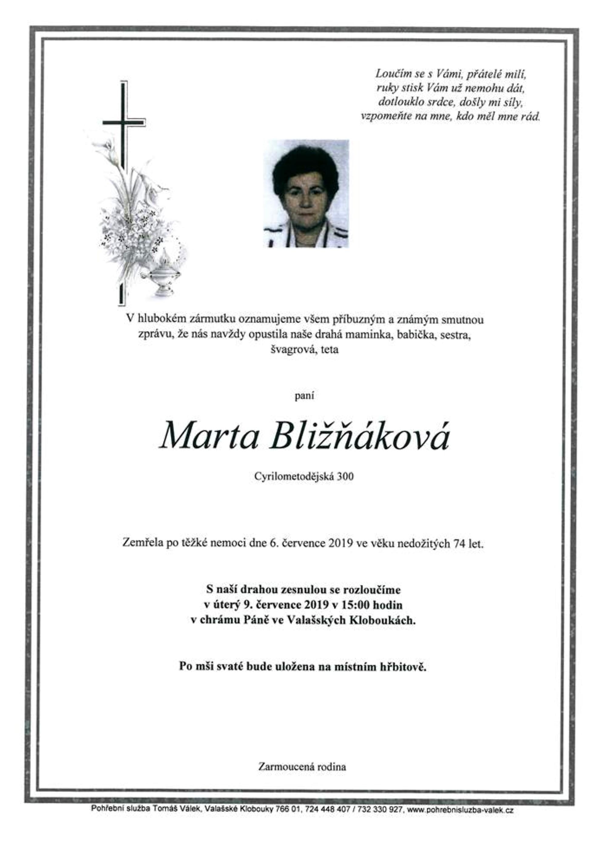 Marta Bližňáková