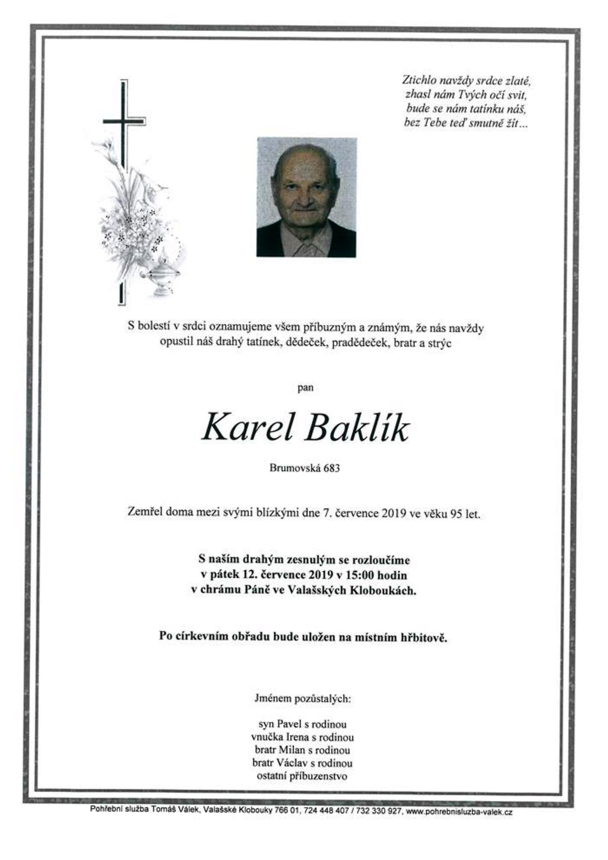 Karel Baklík