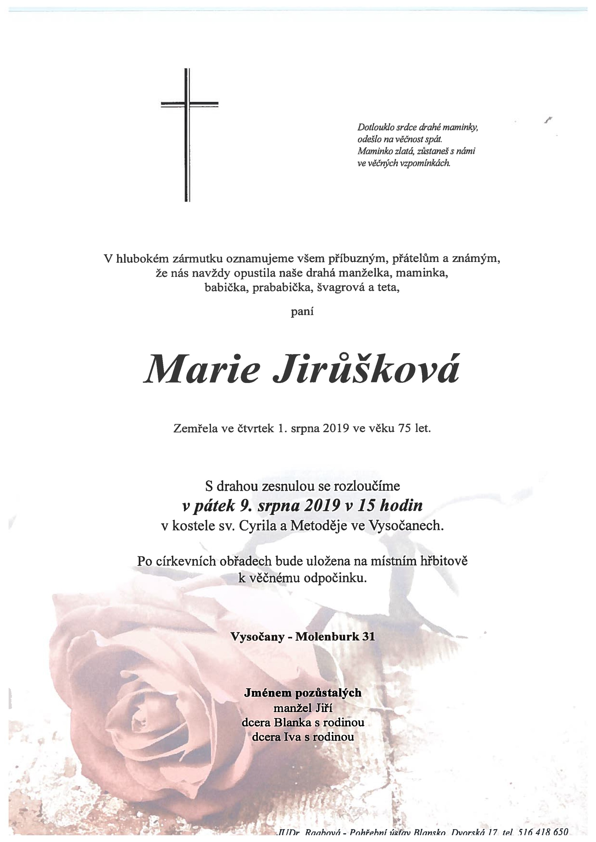 Marie Jirůšková