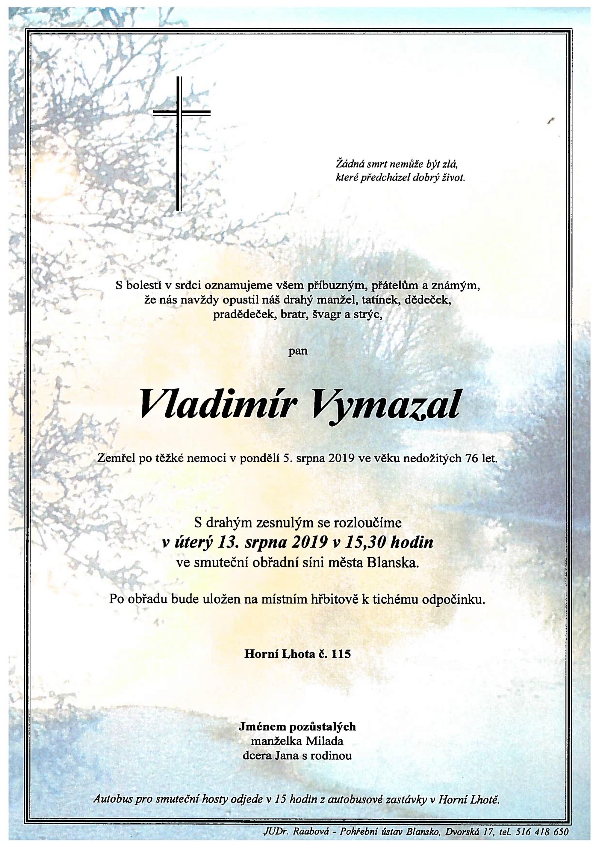 Vladimír Vymazal