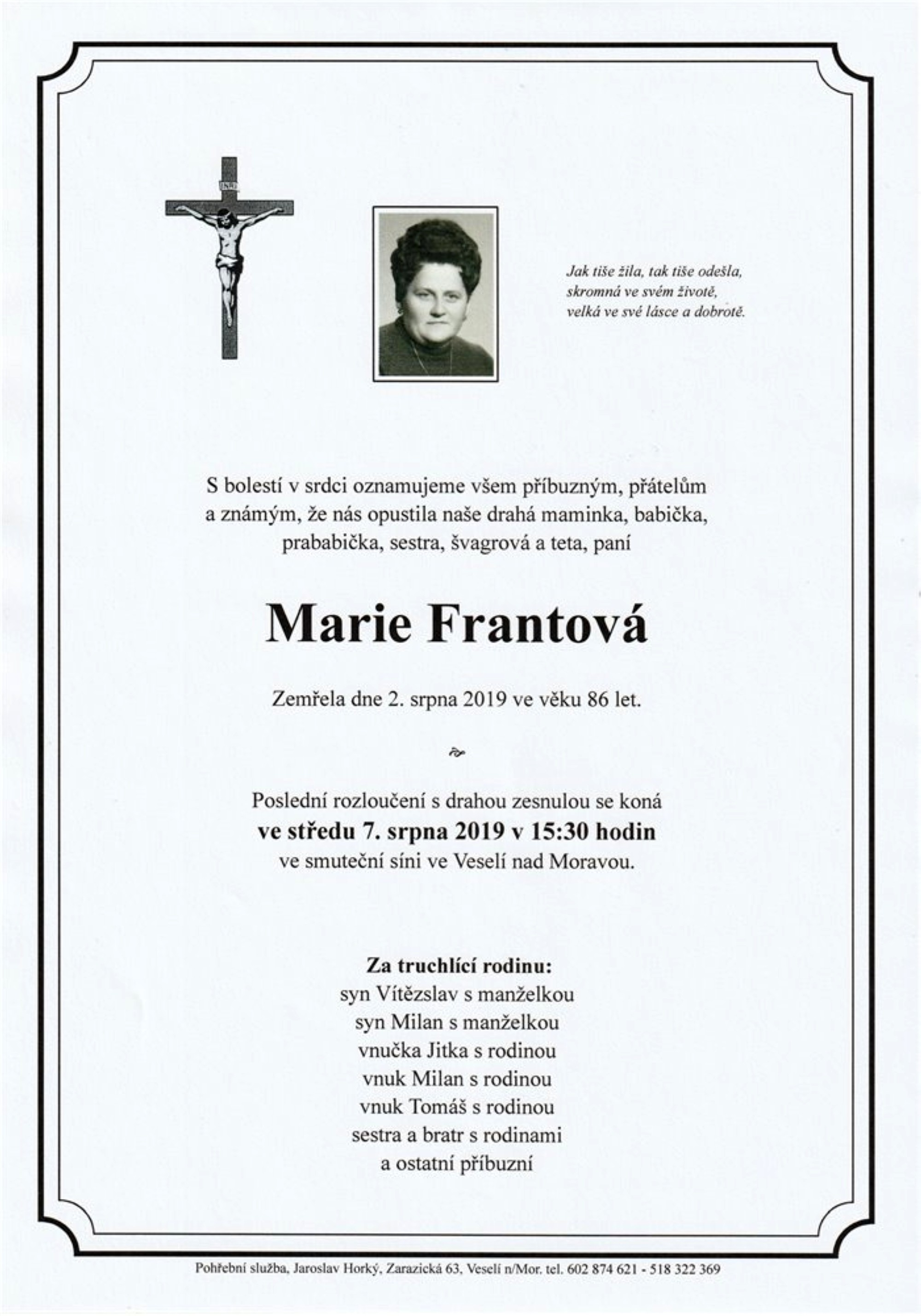Marie Frantová