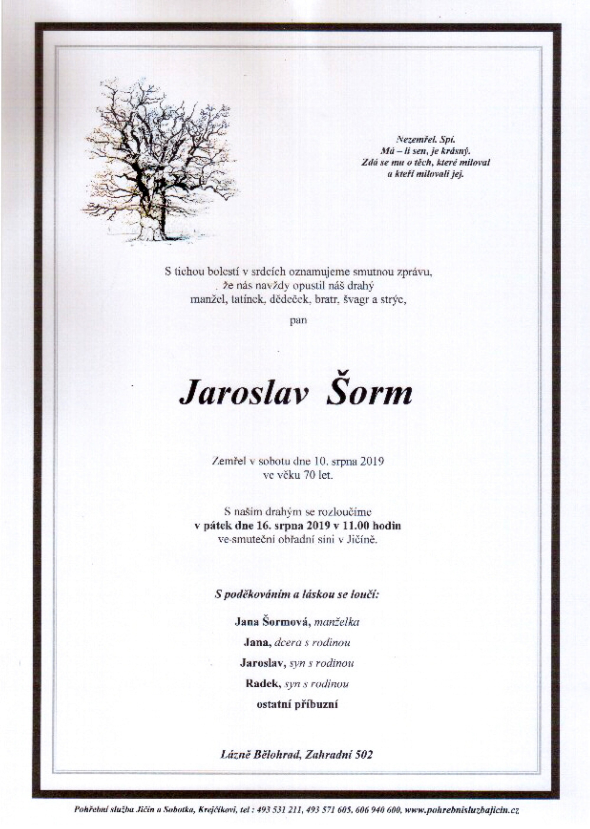 Jaroslav Šorm