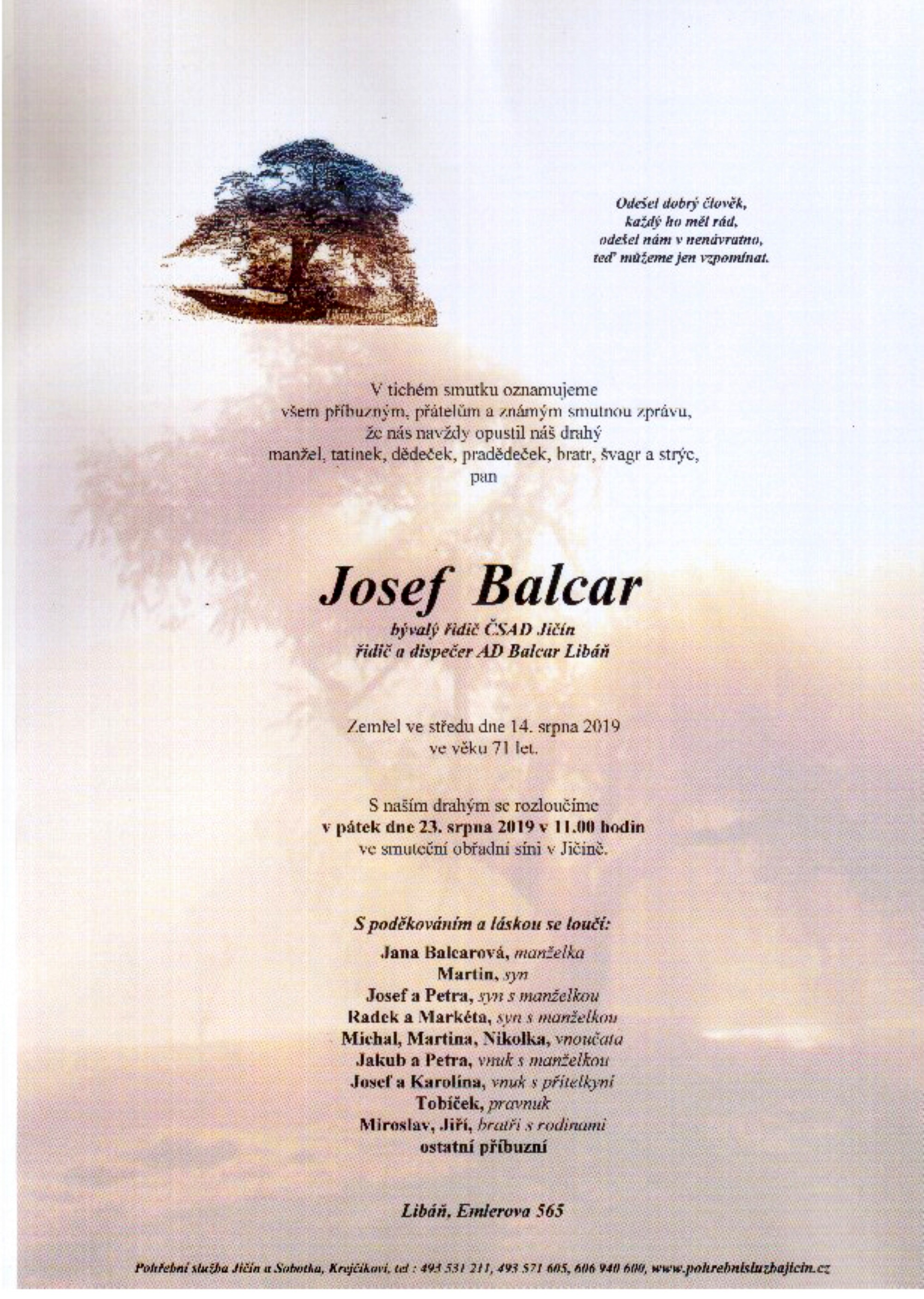 Josef Balcar