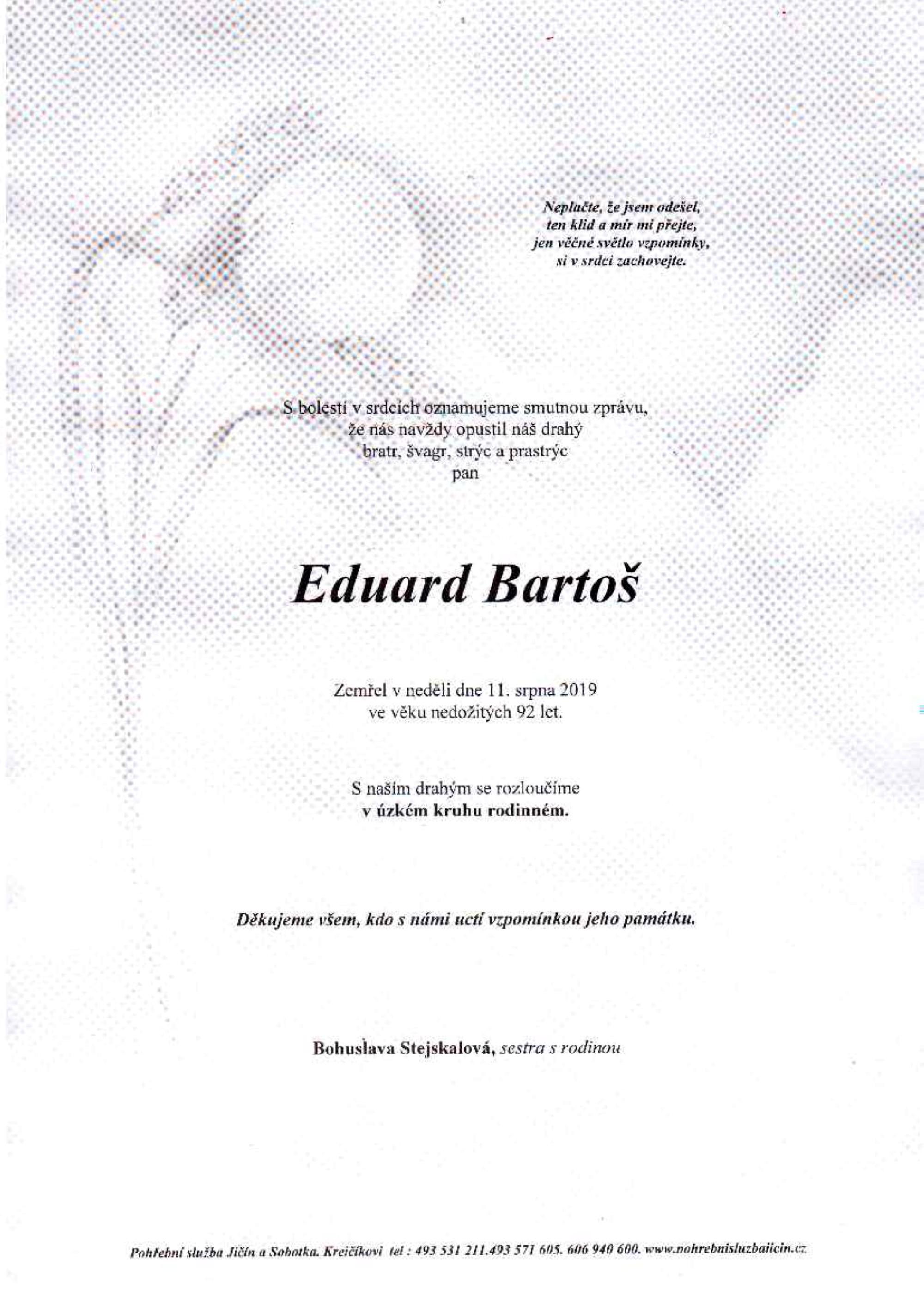 Eduard Bartoš