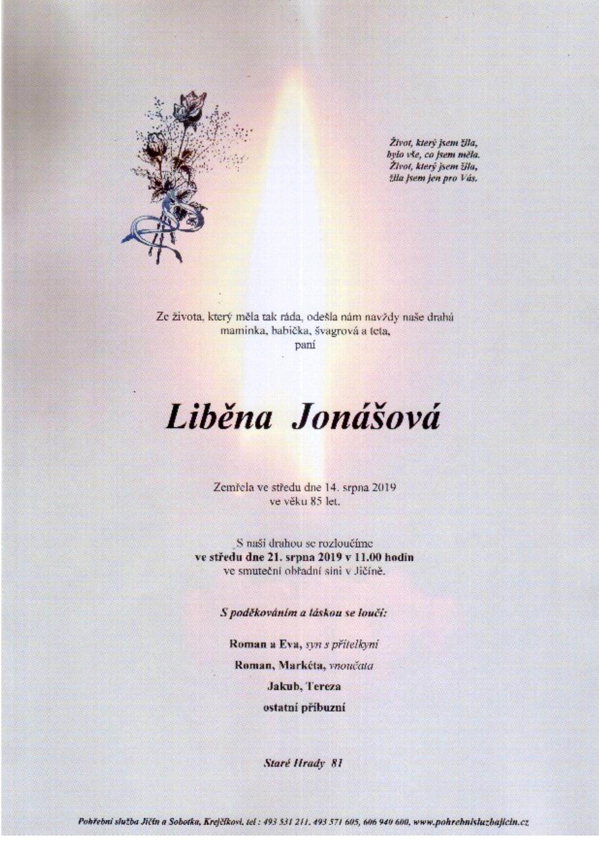 Liběna Jonášová