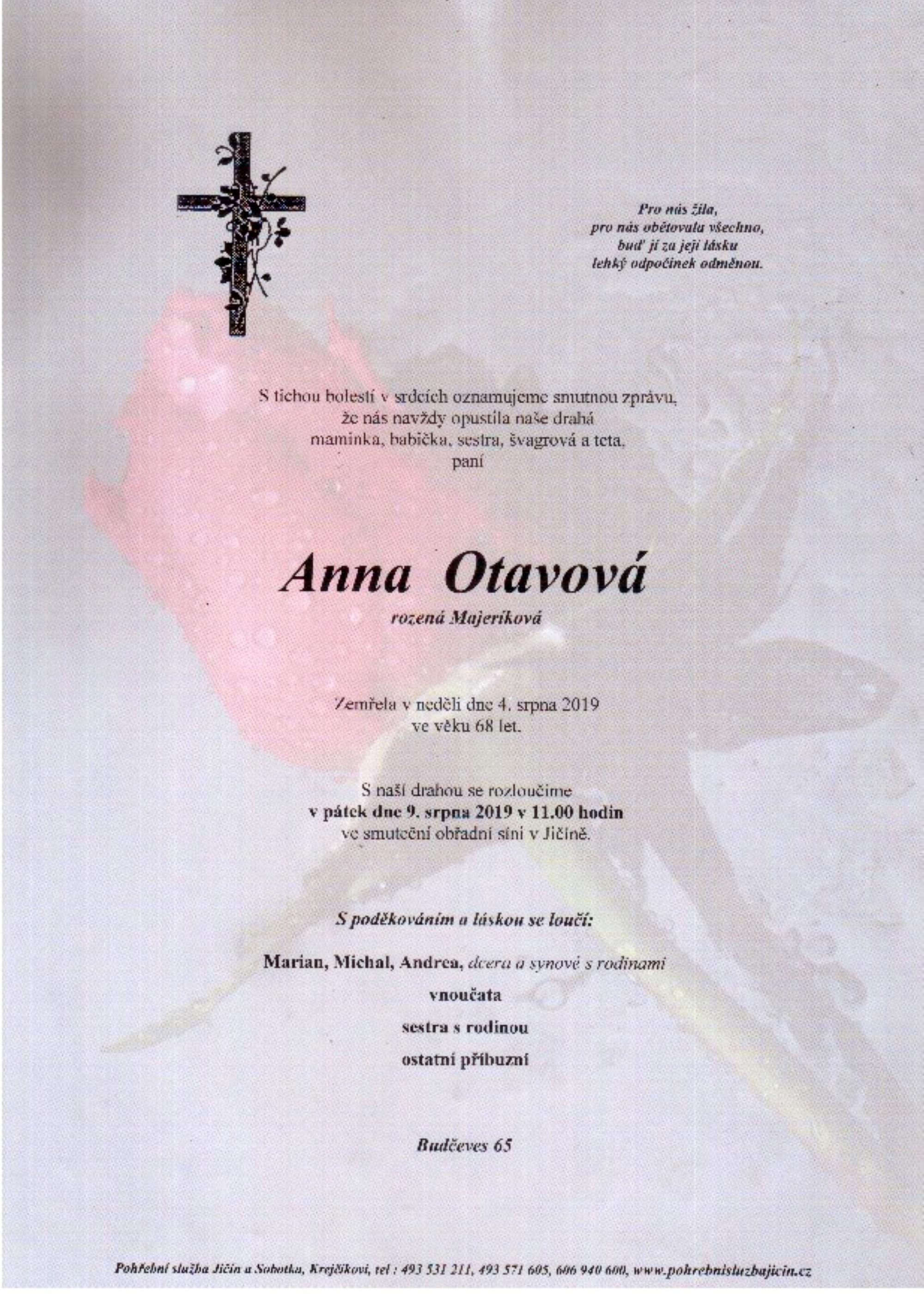 Anna Otavová