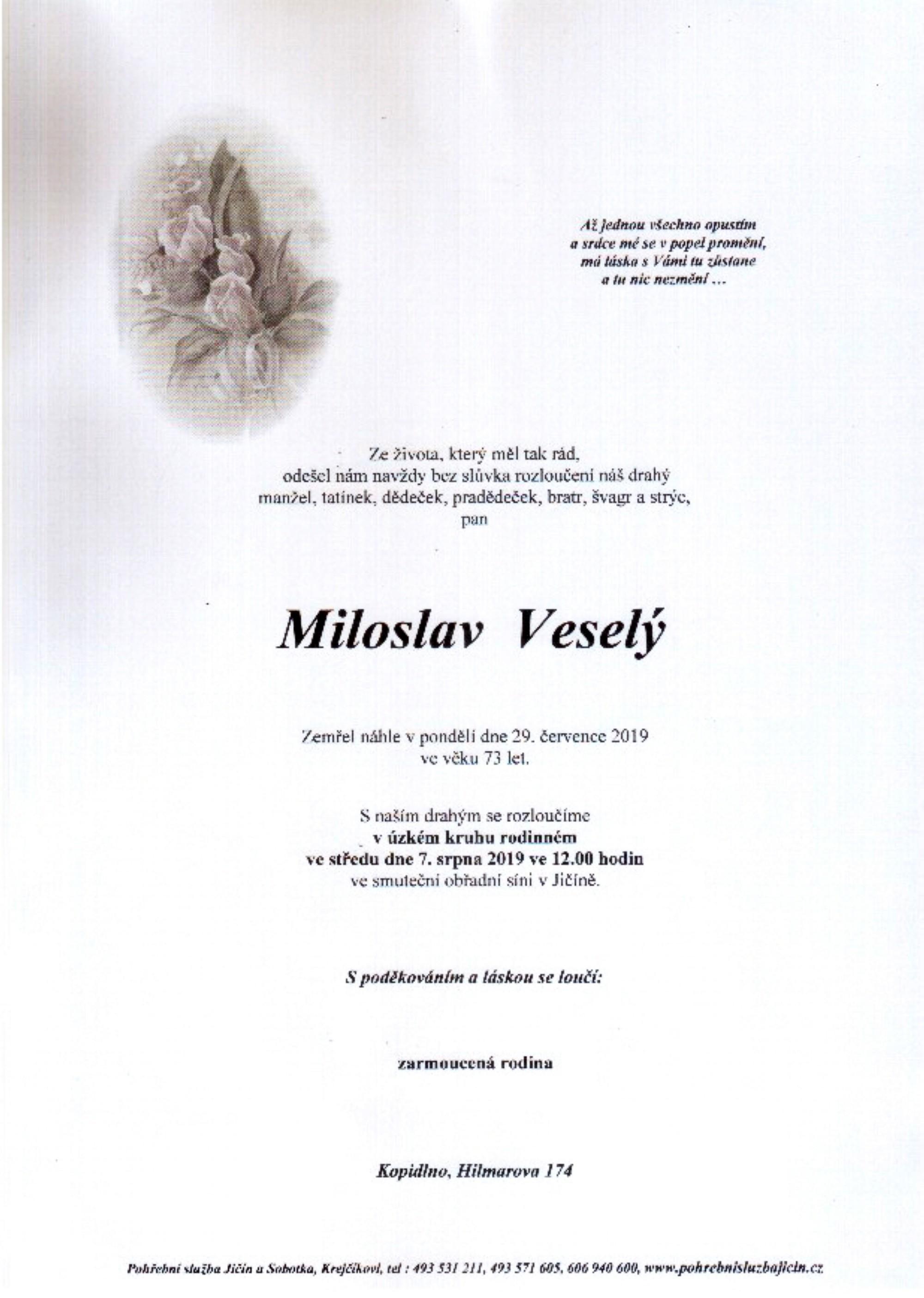 Miloslav Veselý