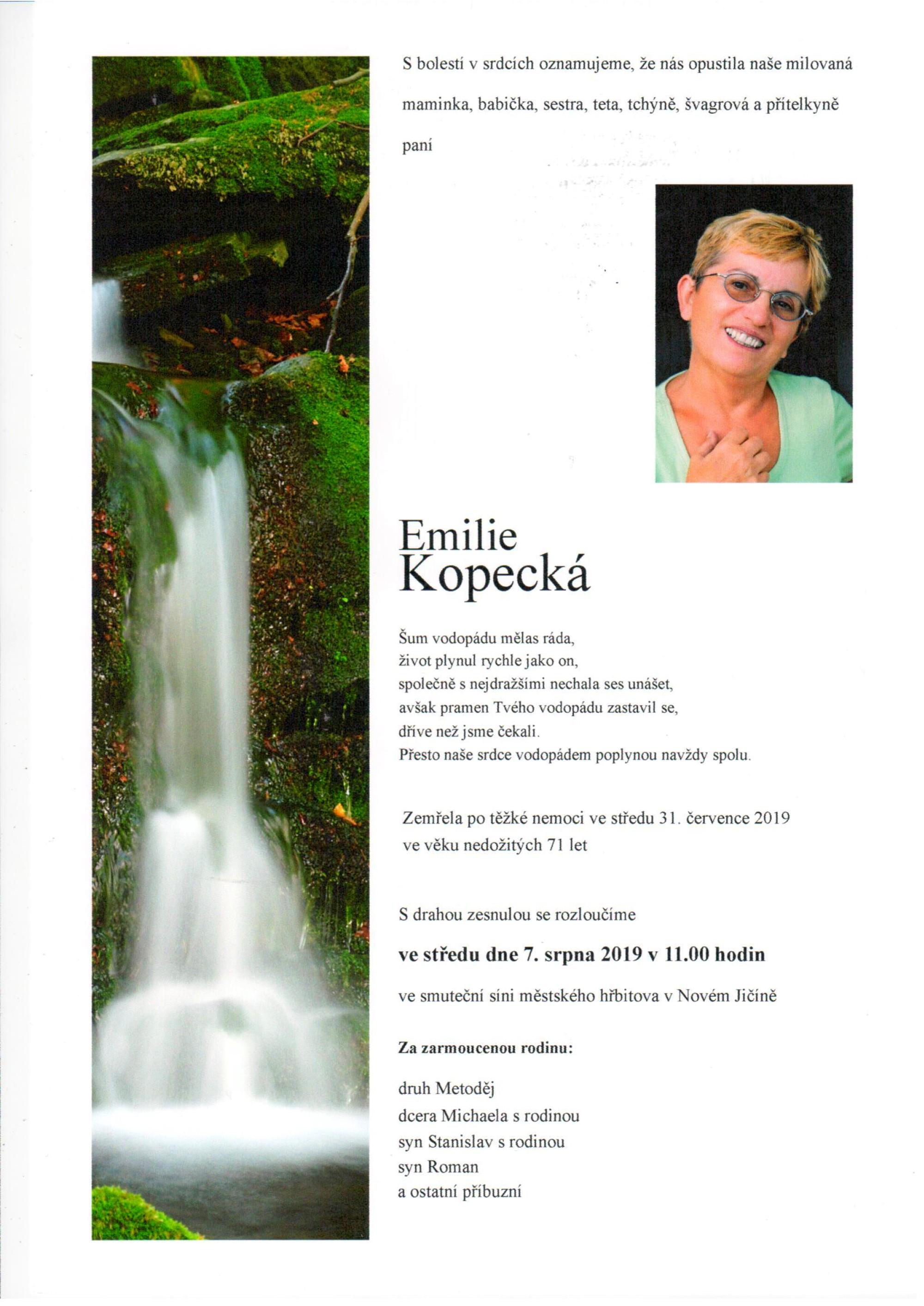 Emilie Kopecká