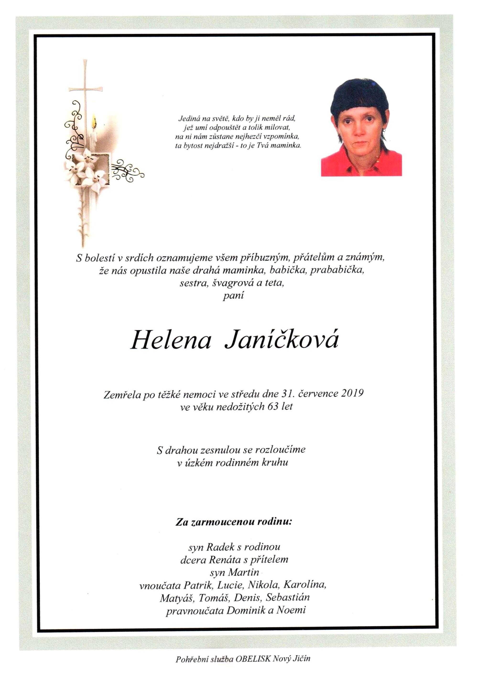 Helena Janíčková