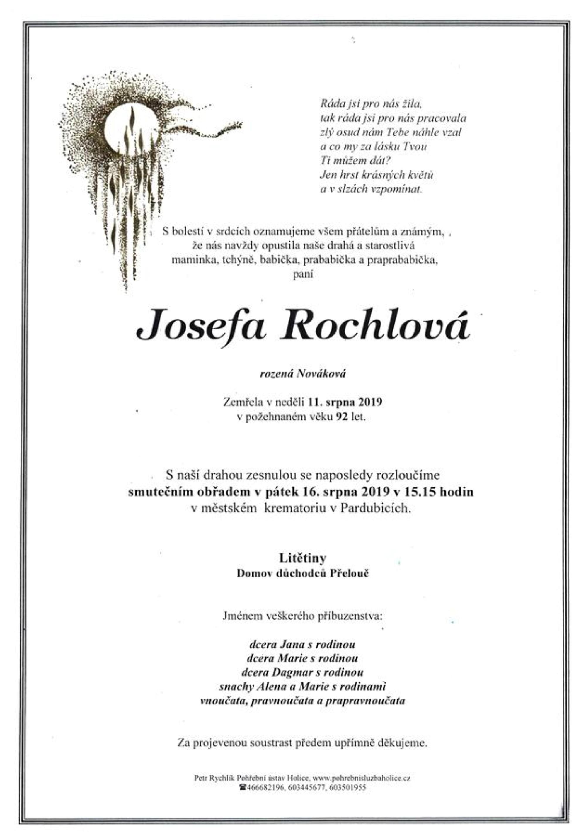 Josefa Rochlová