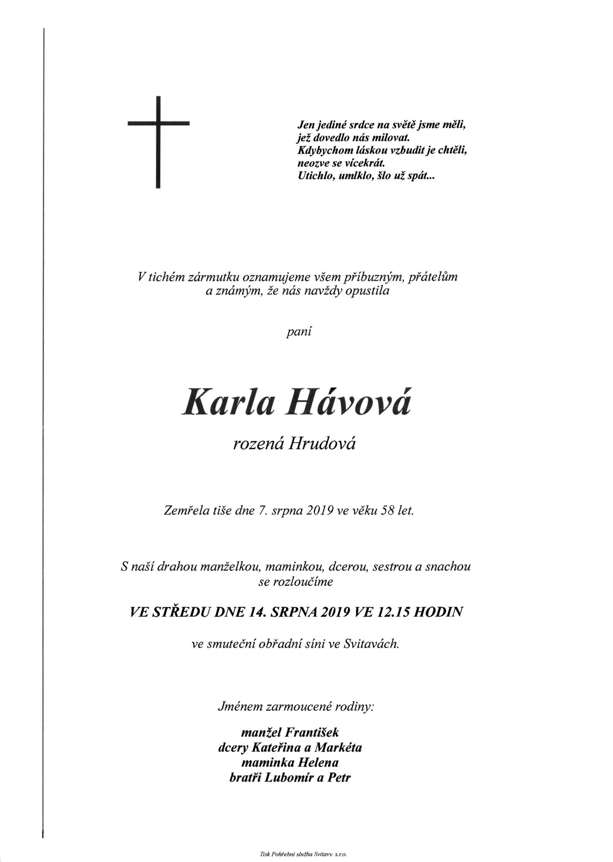 Karla Hávová