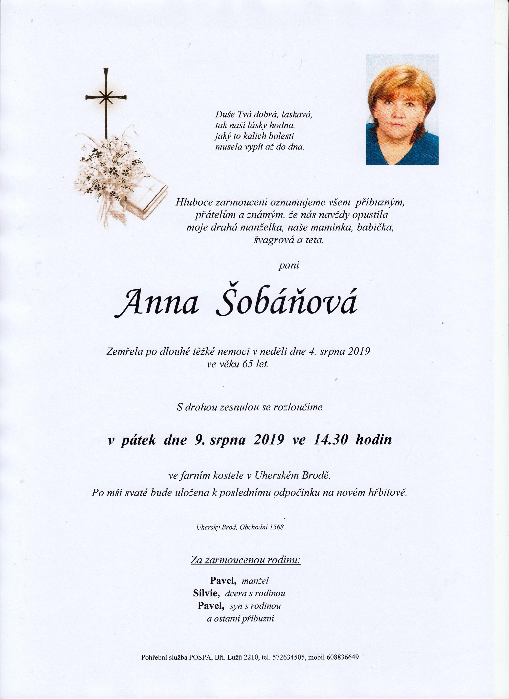 Anna Šobáňová