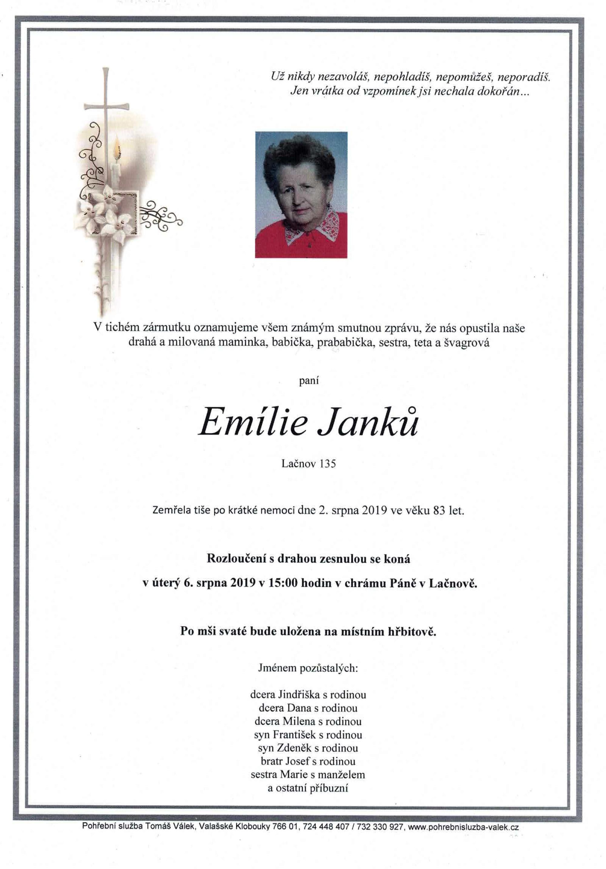 Emílie Janků