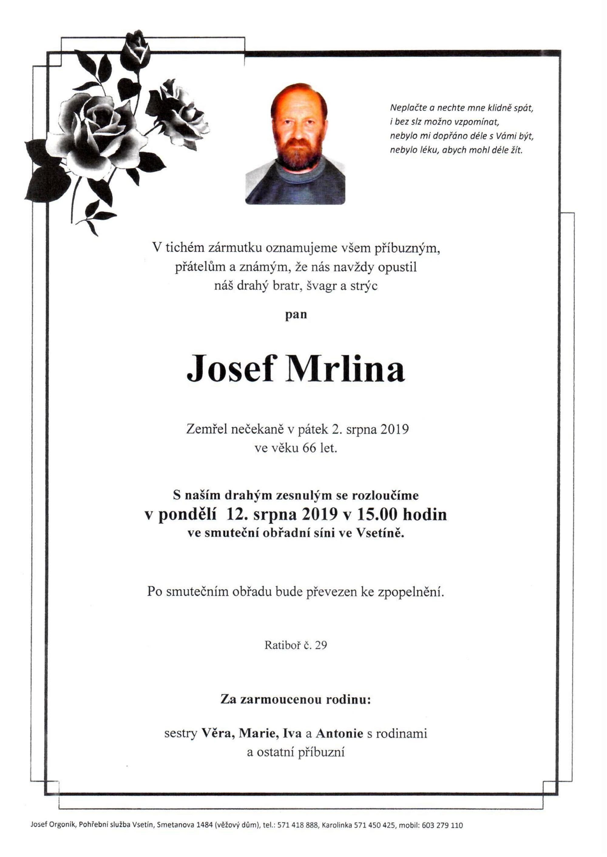 Josef Mrlina
