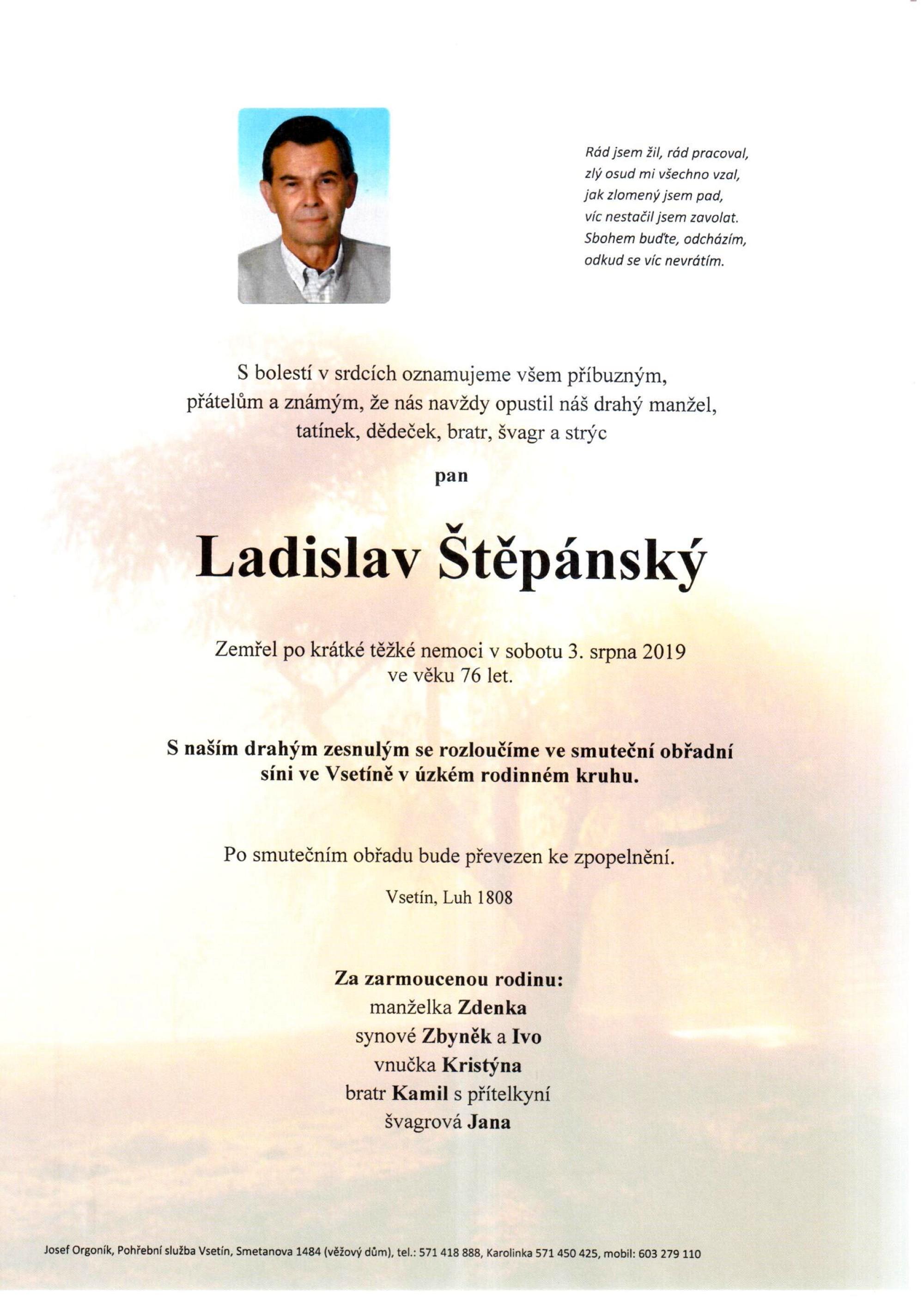Ladislav Štěpánský