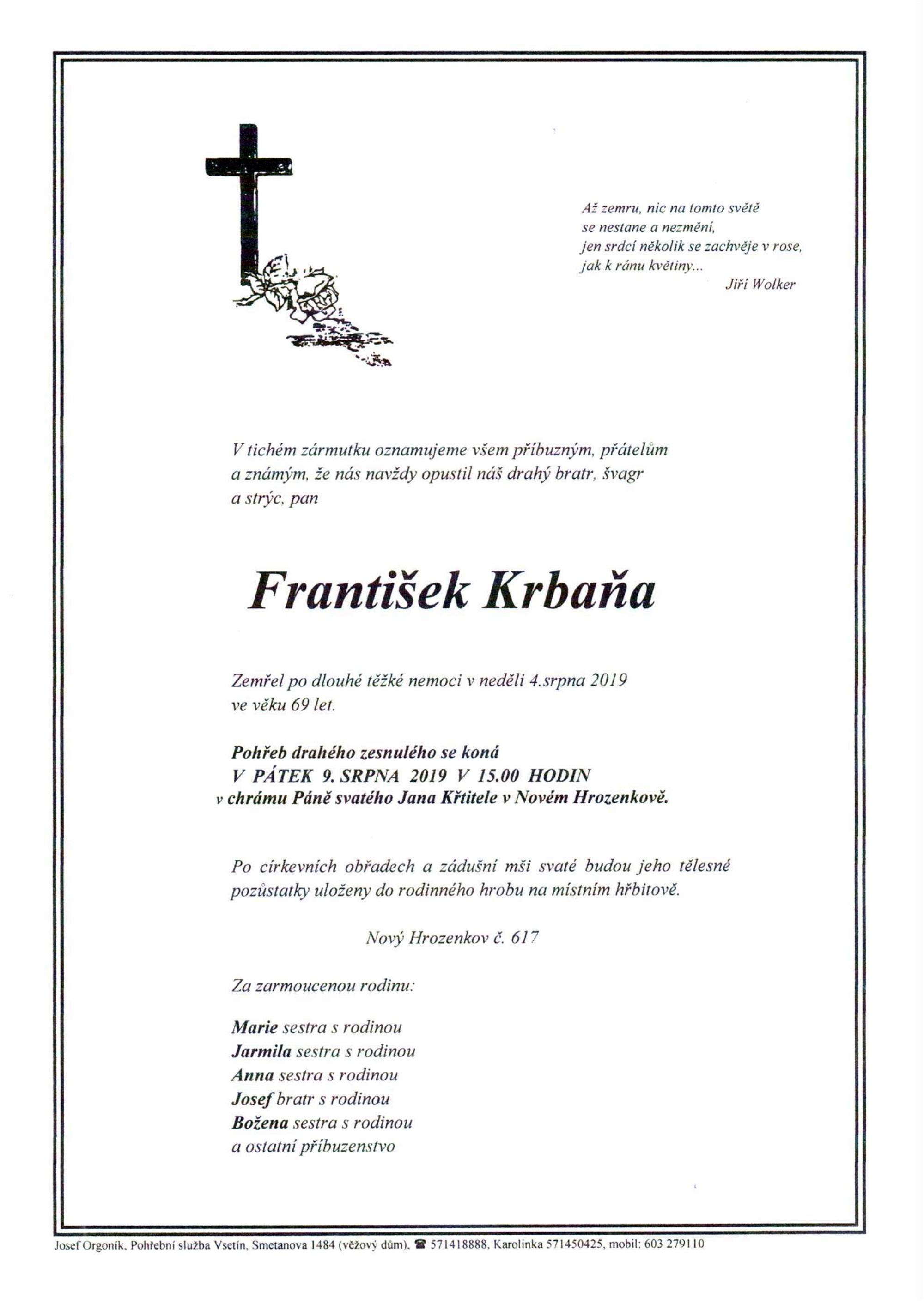 František Krbaňa