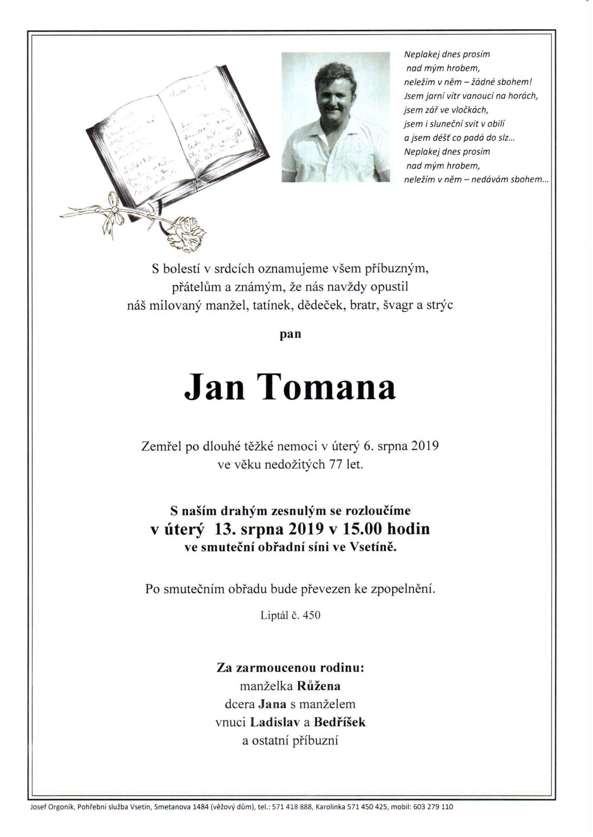 Jan Tomana