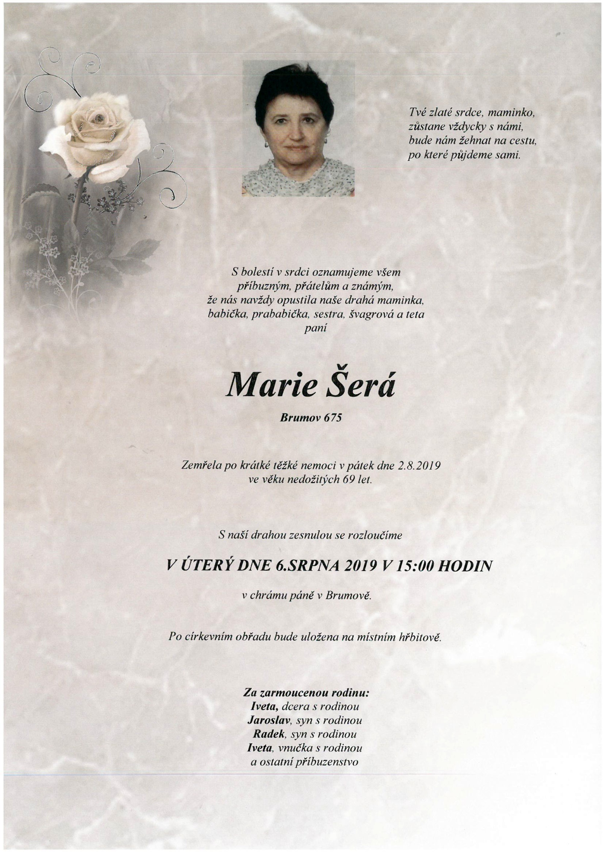 Marie Šerá