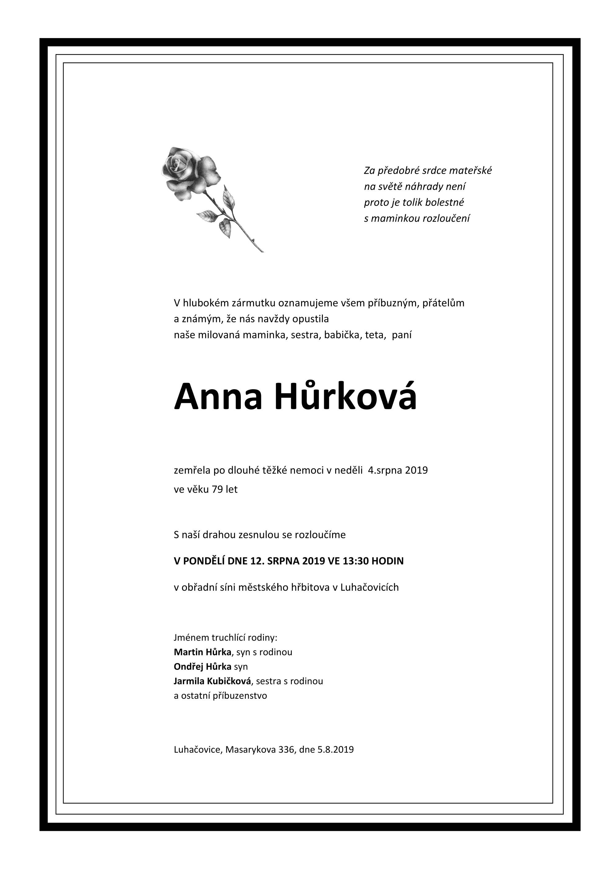Anna Hůrková
