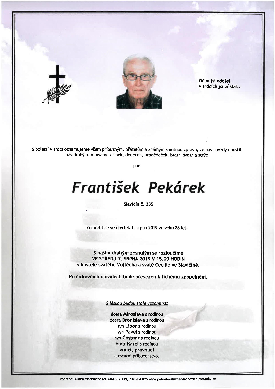 František Pekárek