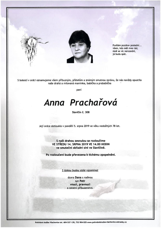Anna Prachařová