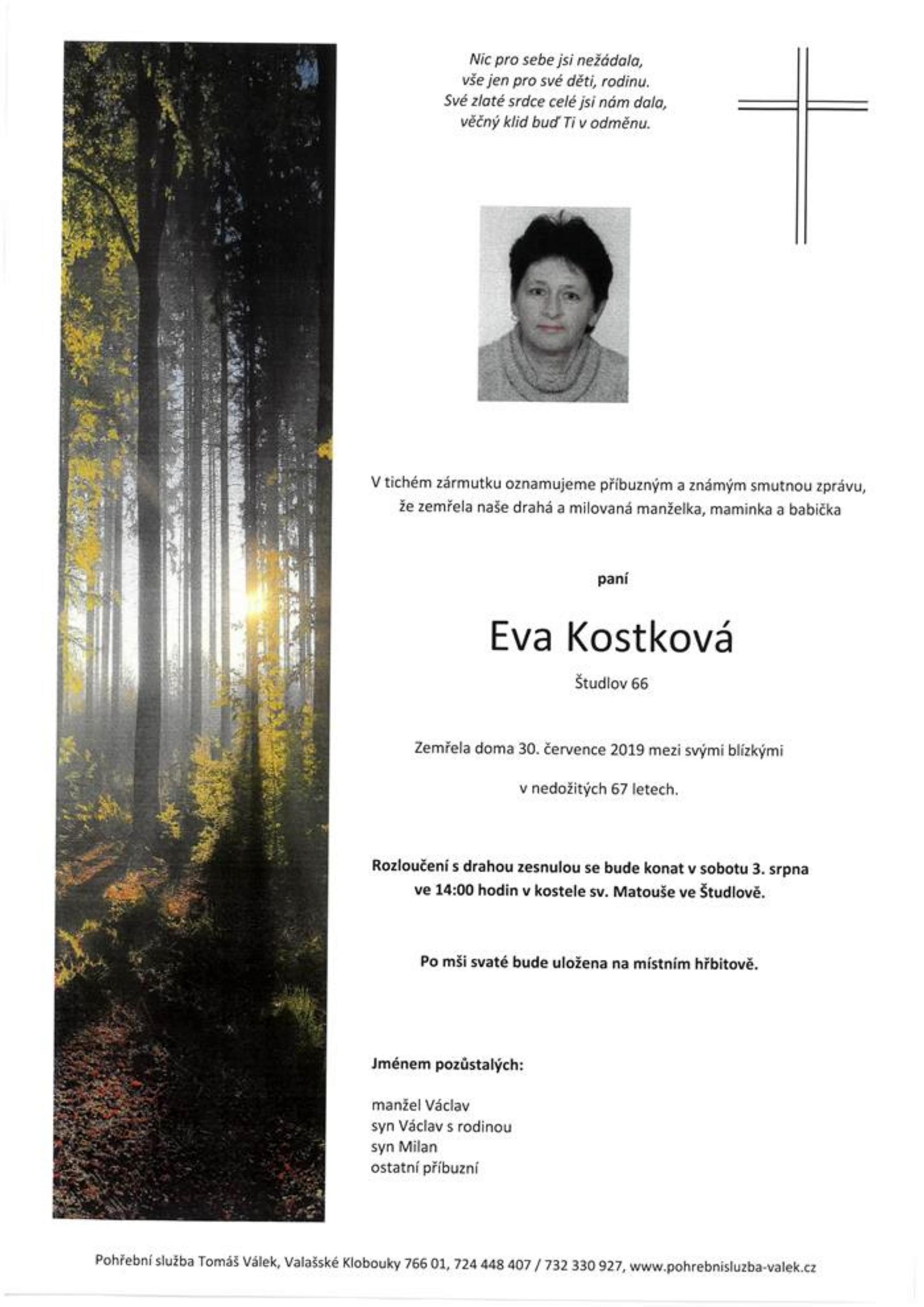 Eva Kostková