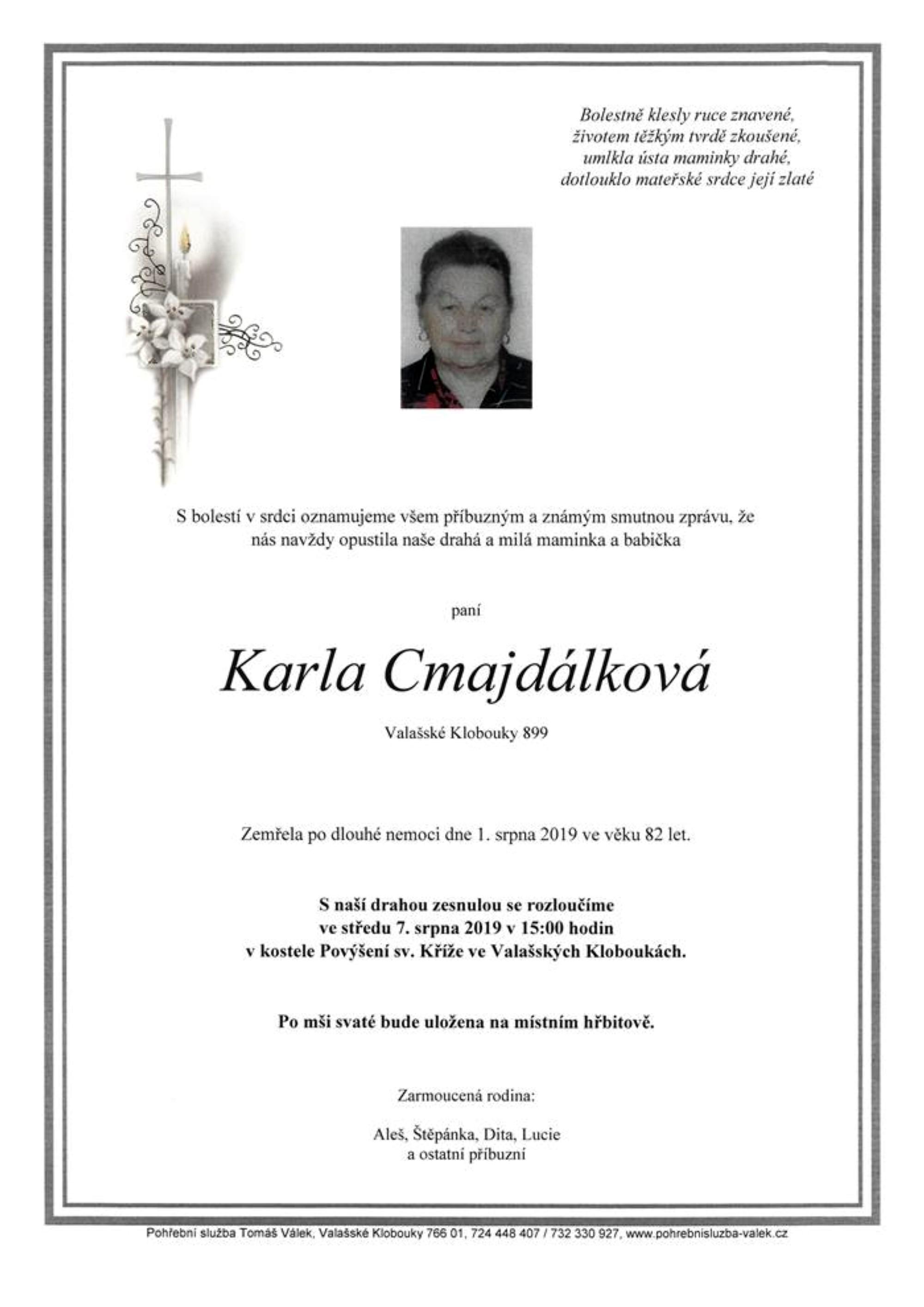 Karla Cmajdálková