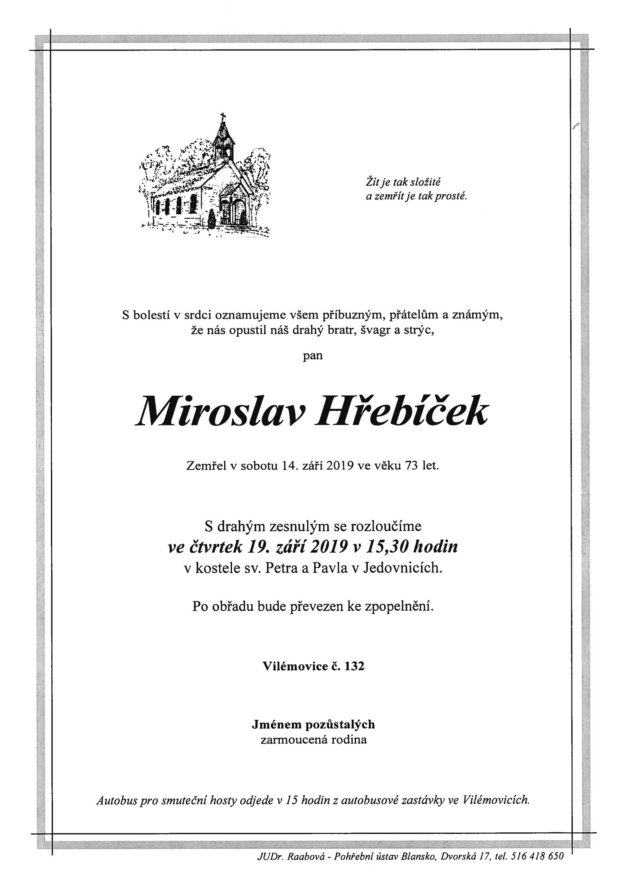 Miroslav Hřebíček