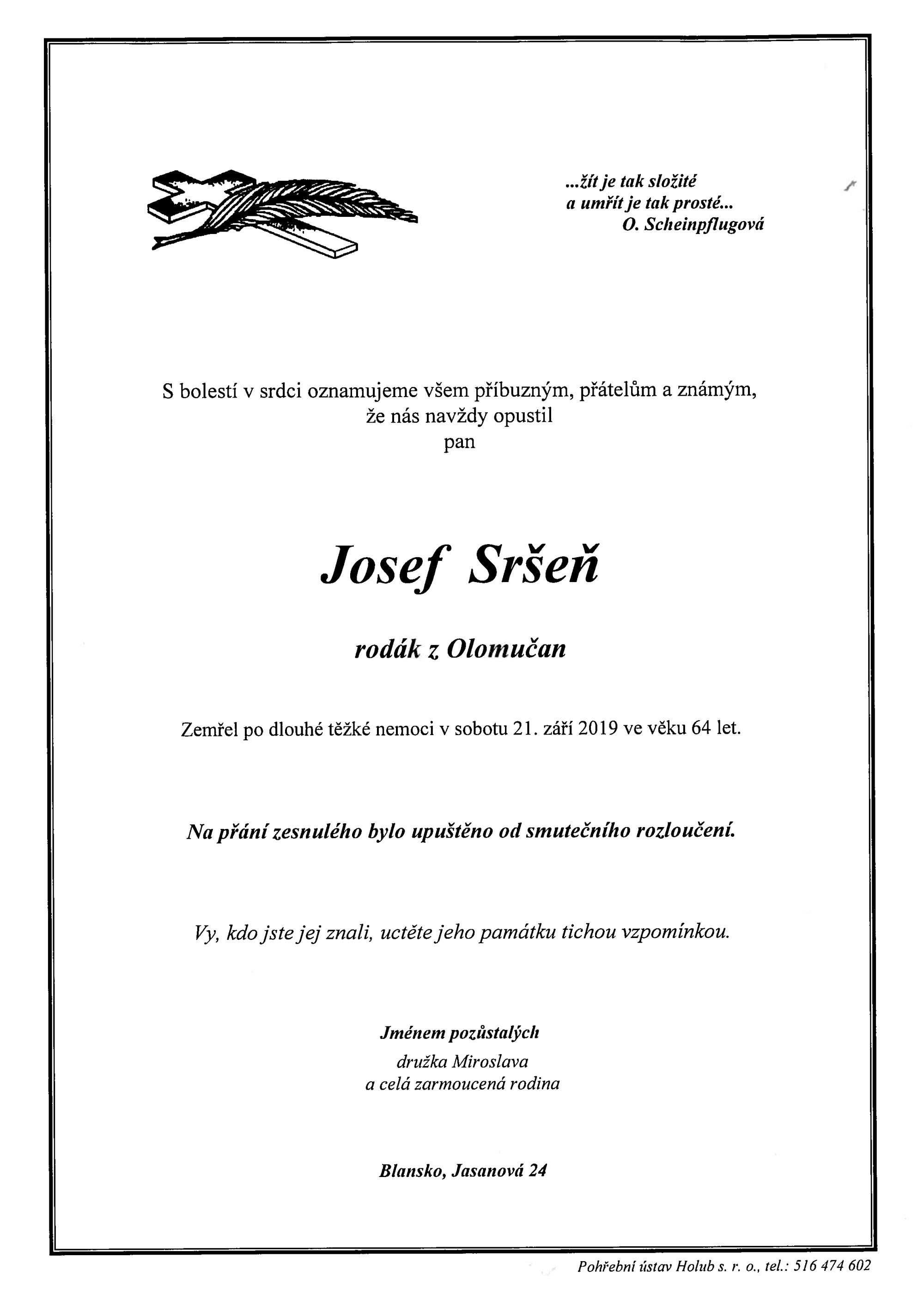 Josef Sršeň