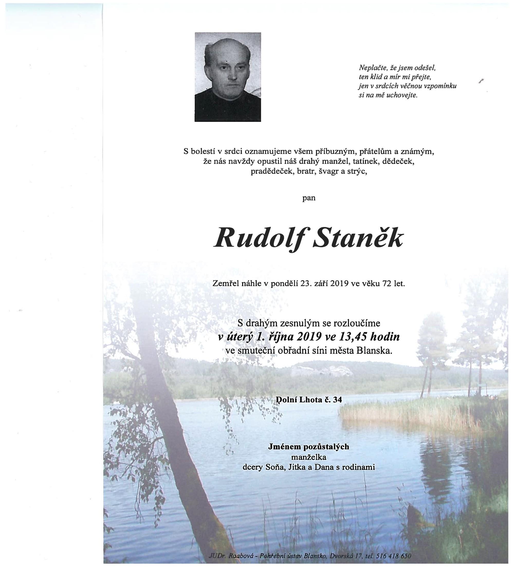 Rudolf Staněk