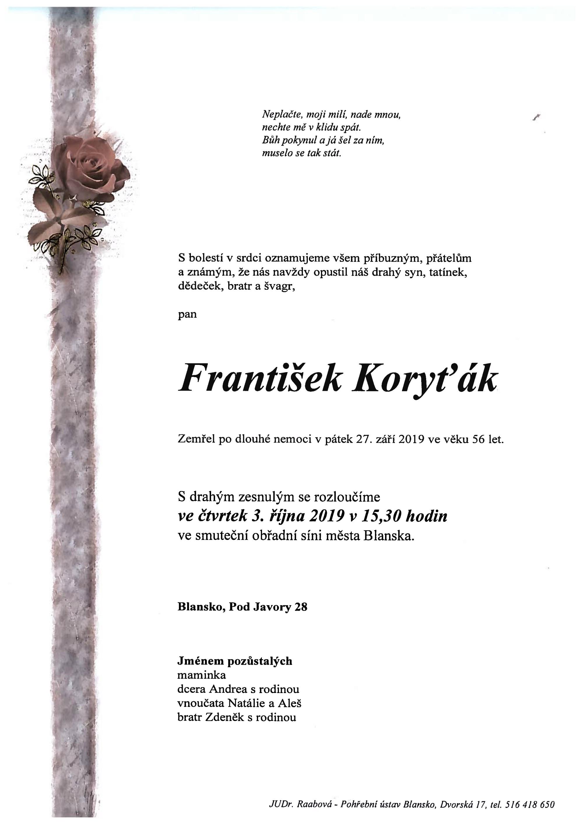 František Koryťák