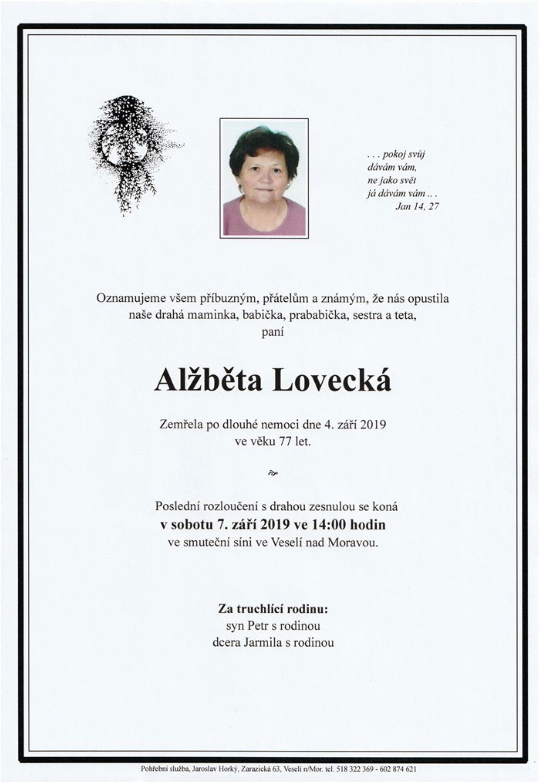 Alžběta Lovecká