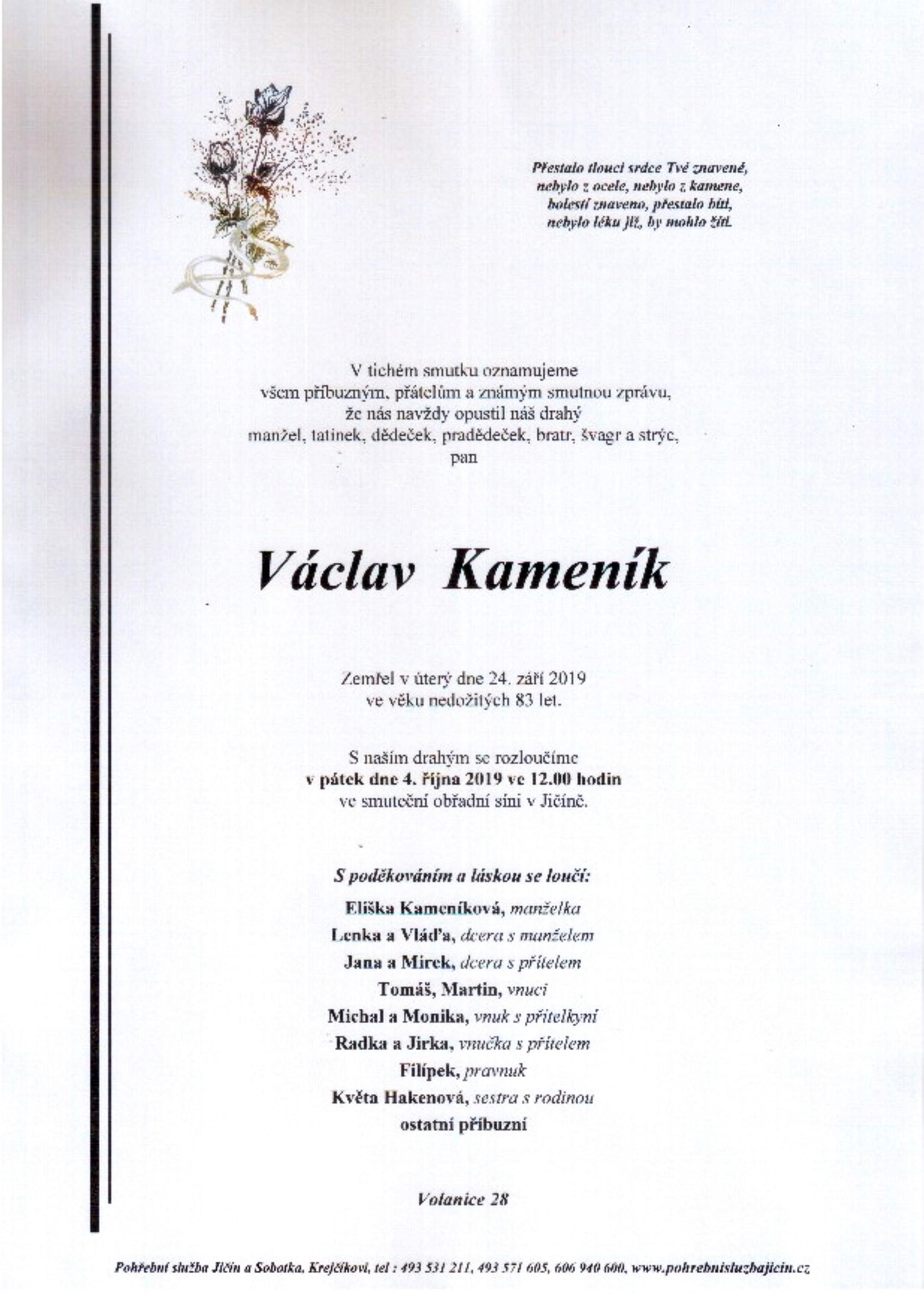 Václav Kameník