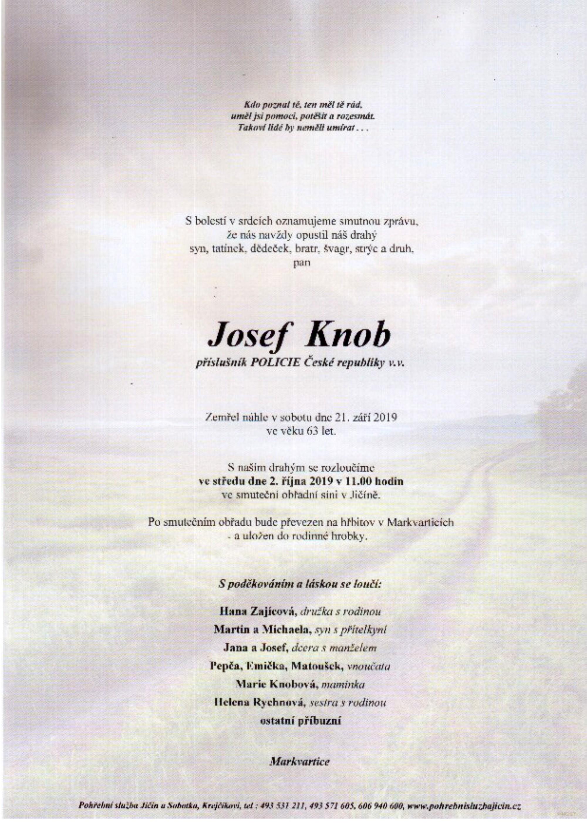 Josef Knob