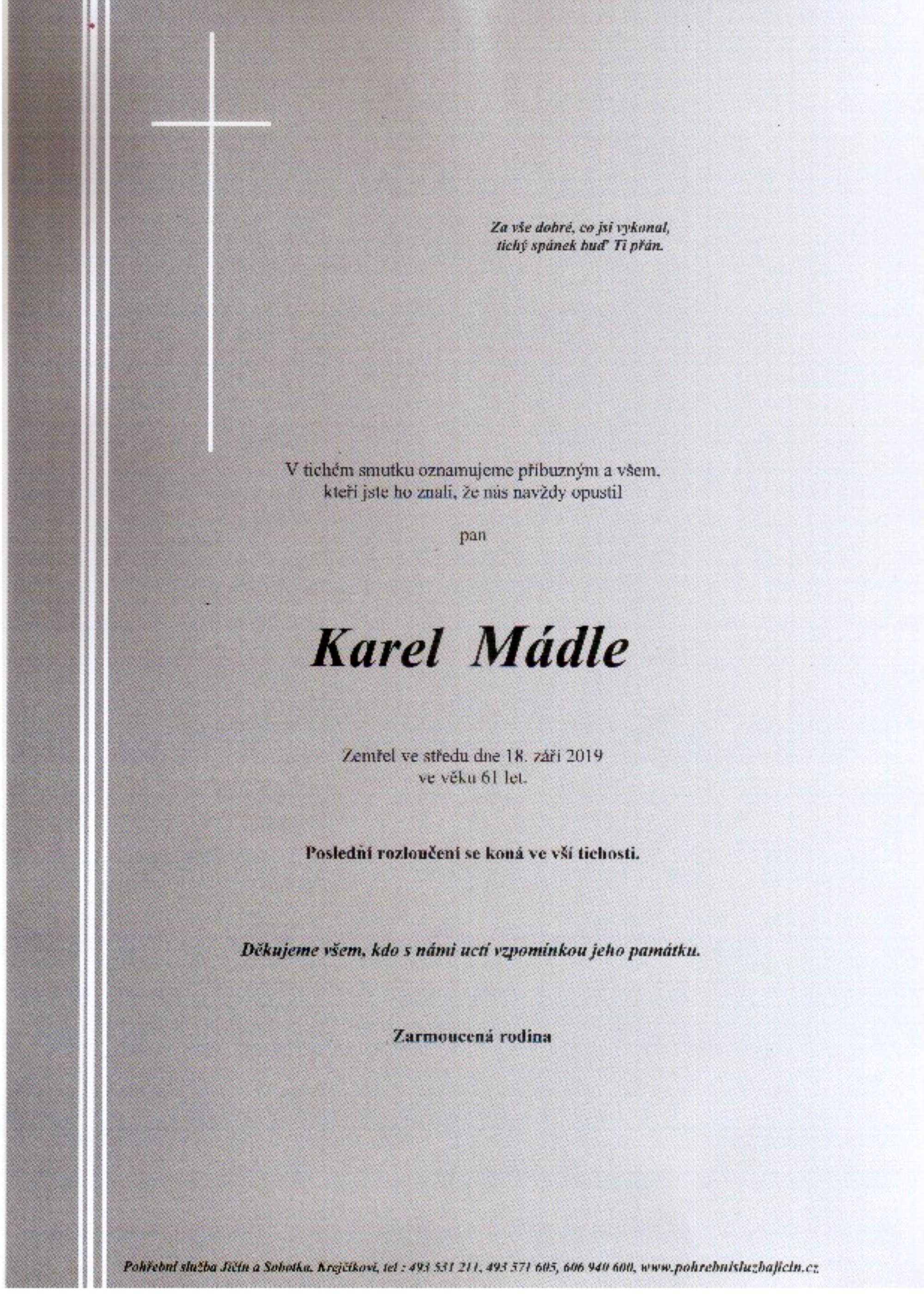 Karel Mádle