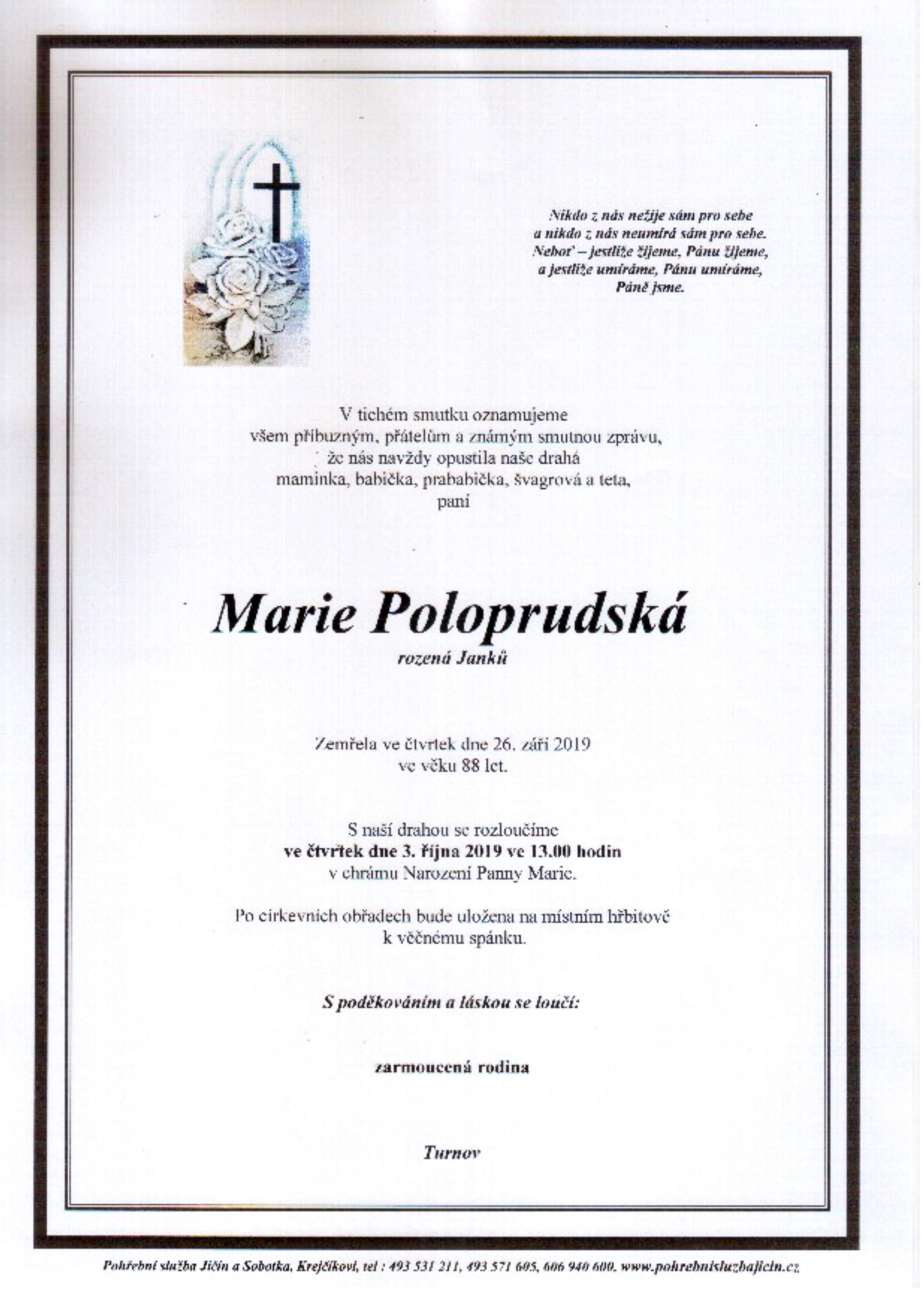 Marie Poloprudská