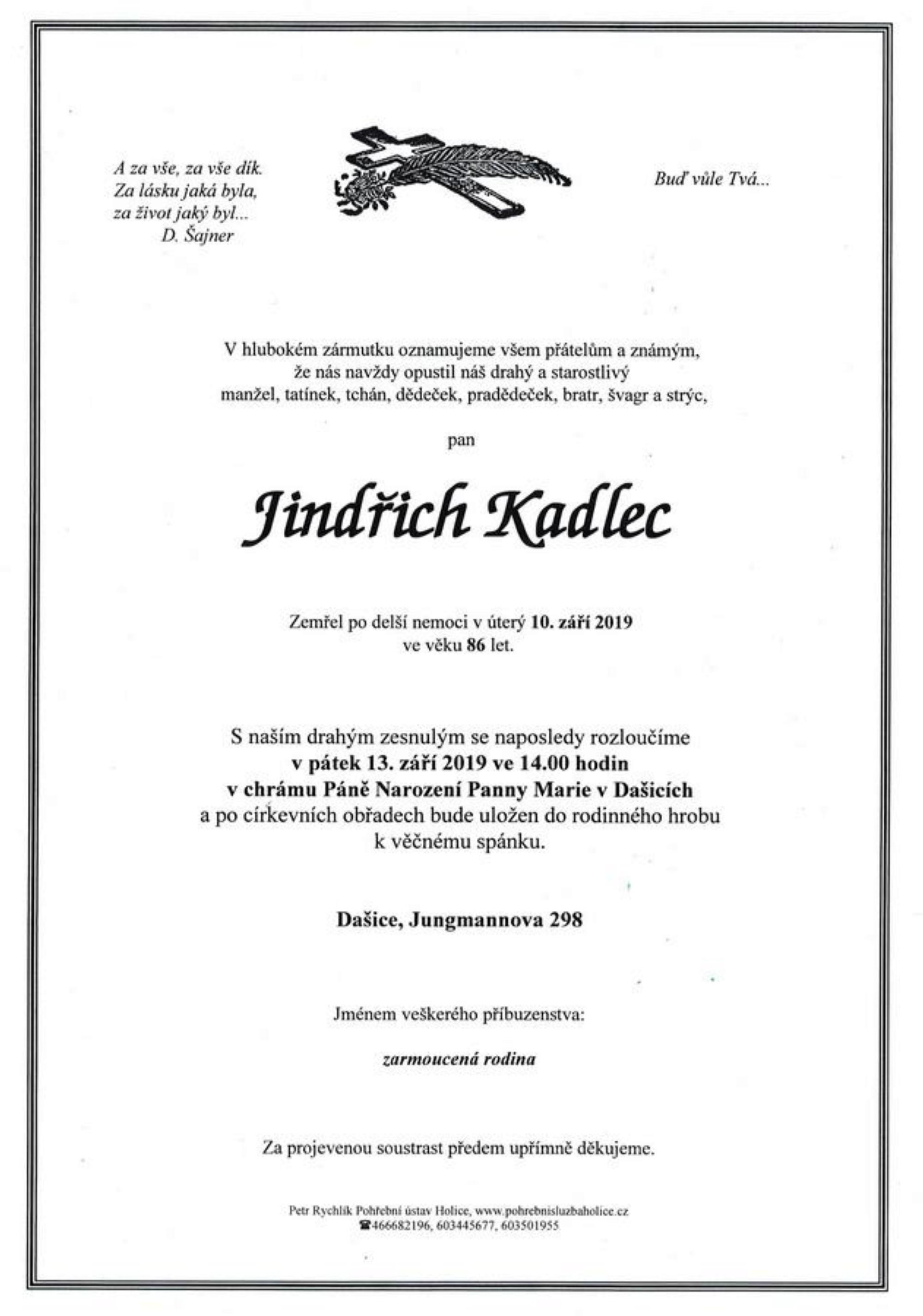 Jindřich Kadlec