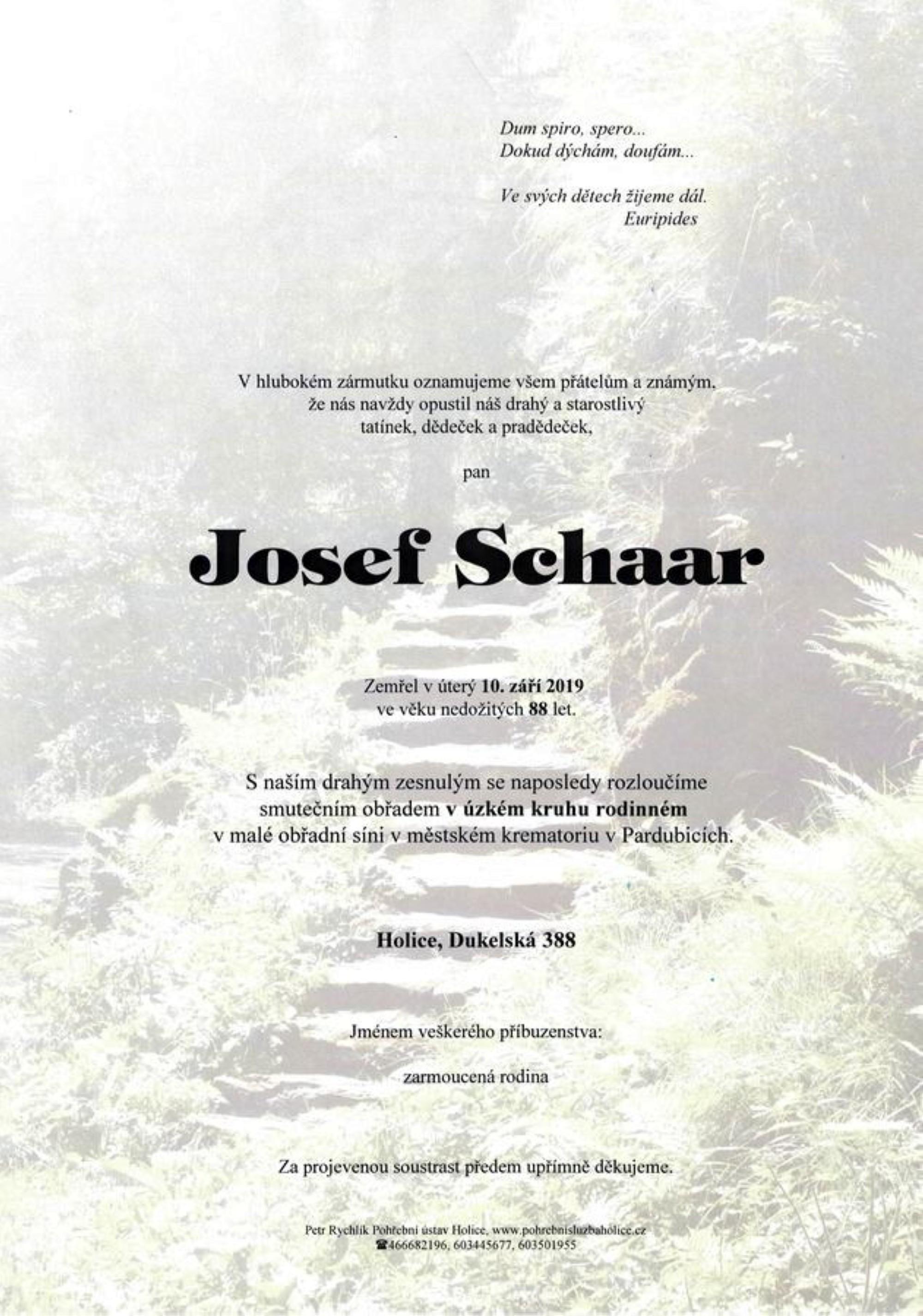 Josef Schaar
