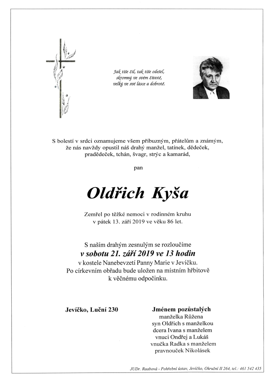 Oldřich Kyša