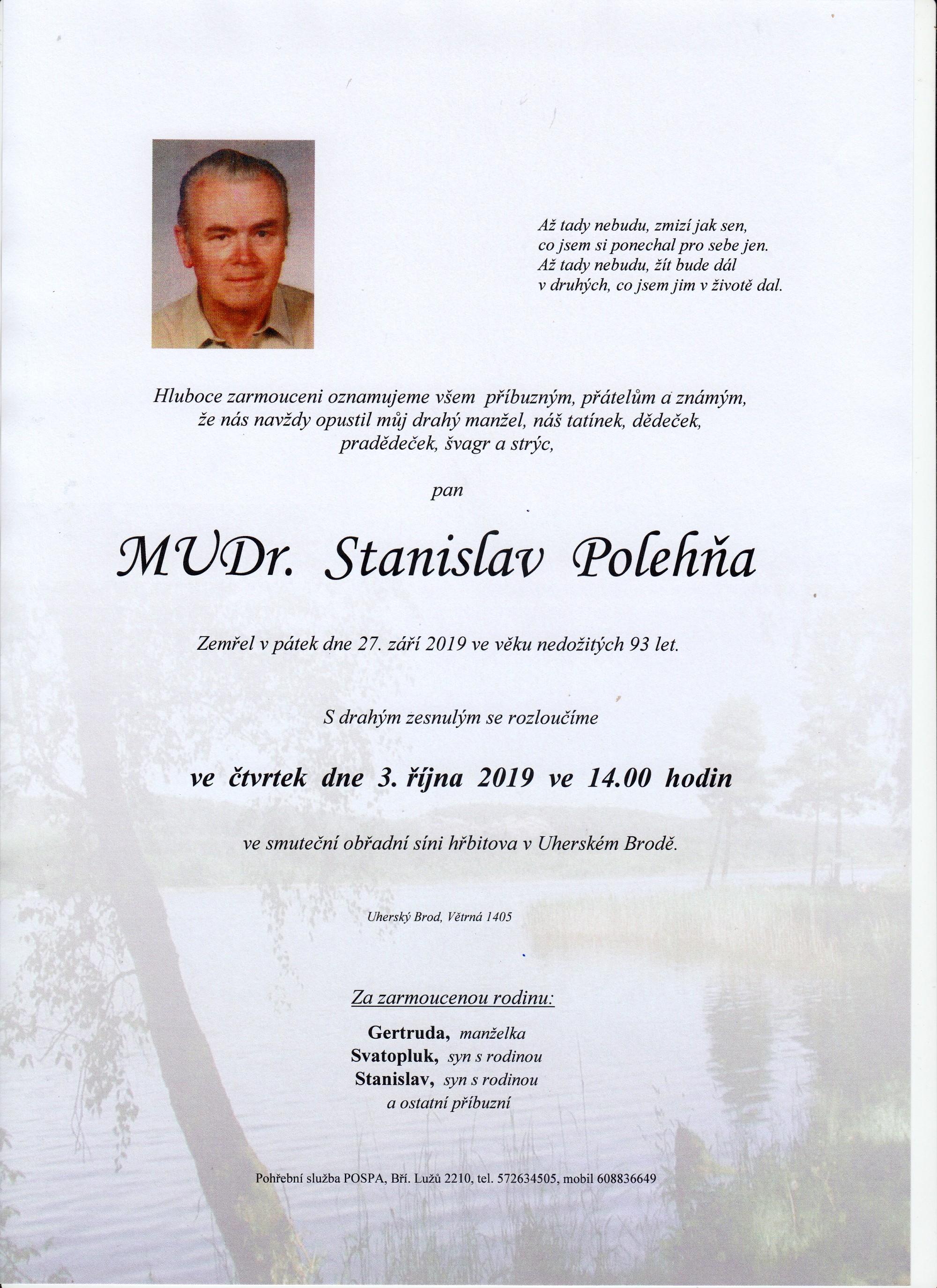 MUDr. Stanislav Polehňa